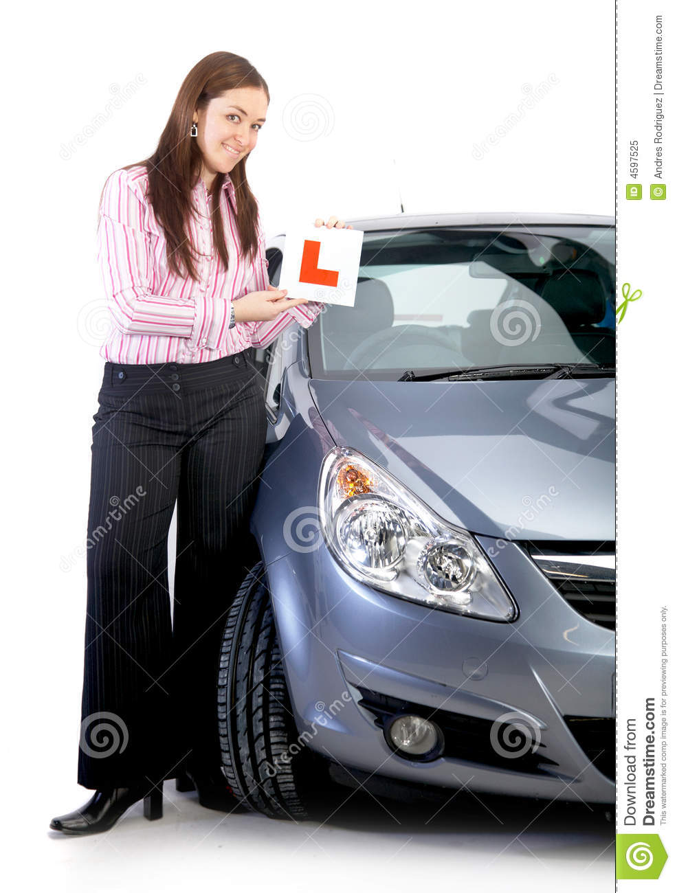 Learning Driving Licence Application लर न ग ड र ईव ग: Learning Driver Royalty Free Stock Photo