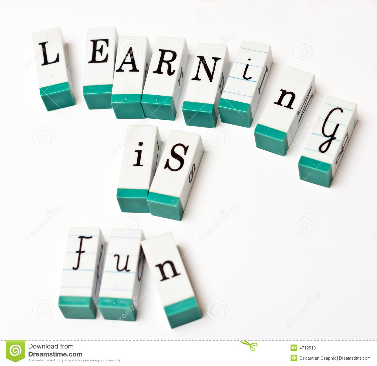 learning is fun royalty free stock photos image 4712518