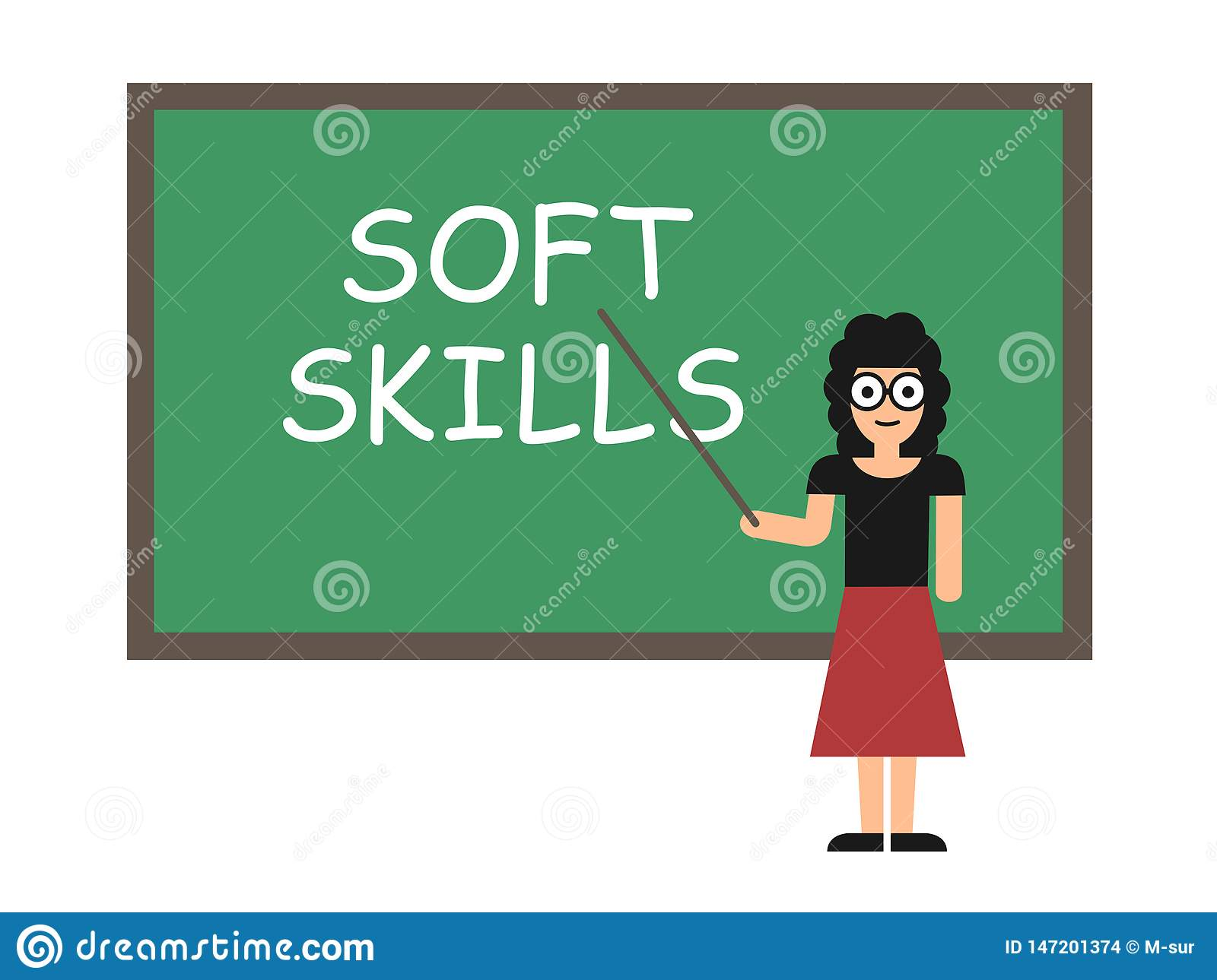 Learning Soft Skills In Childhood Can >> Learning Soft Skills Stock Vector Illustration Of Skill