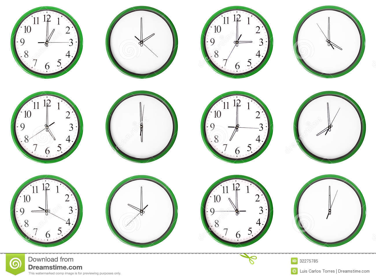 Worksheet Learning Time learning time odd numbers green royalty free stock photo green