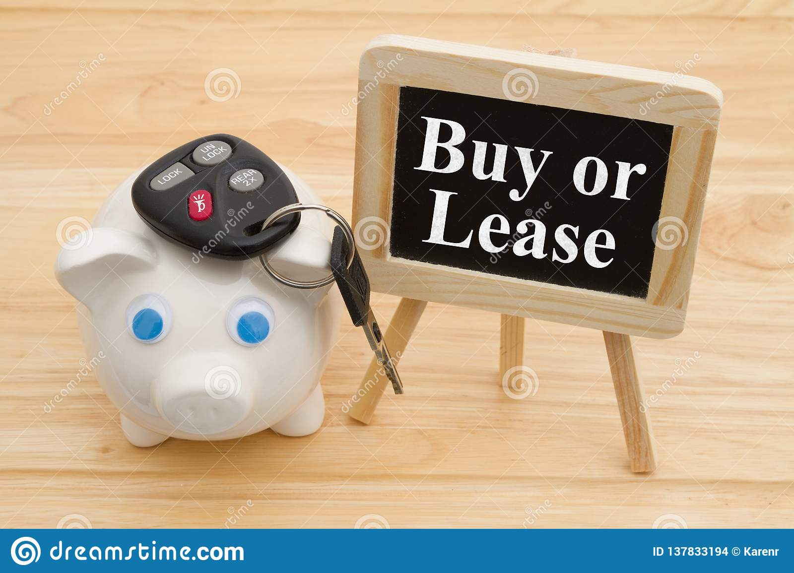 Learning whether to buy or lease car
