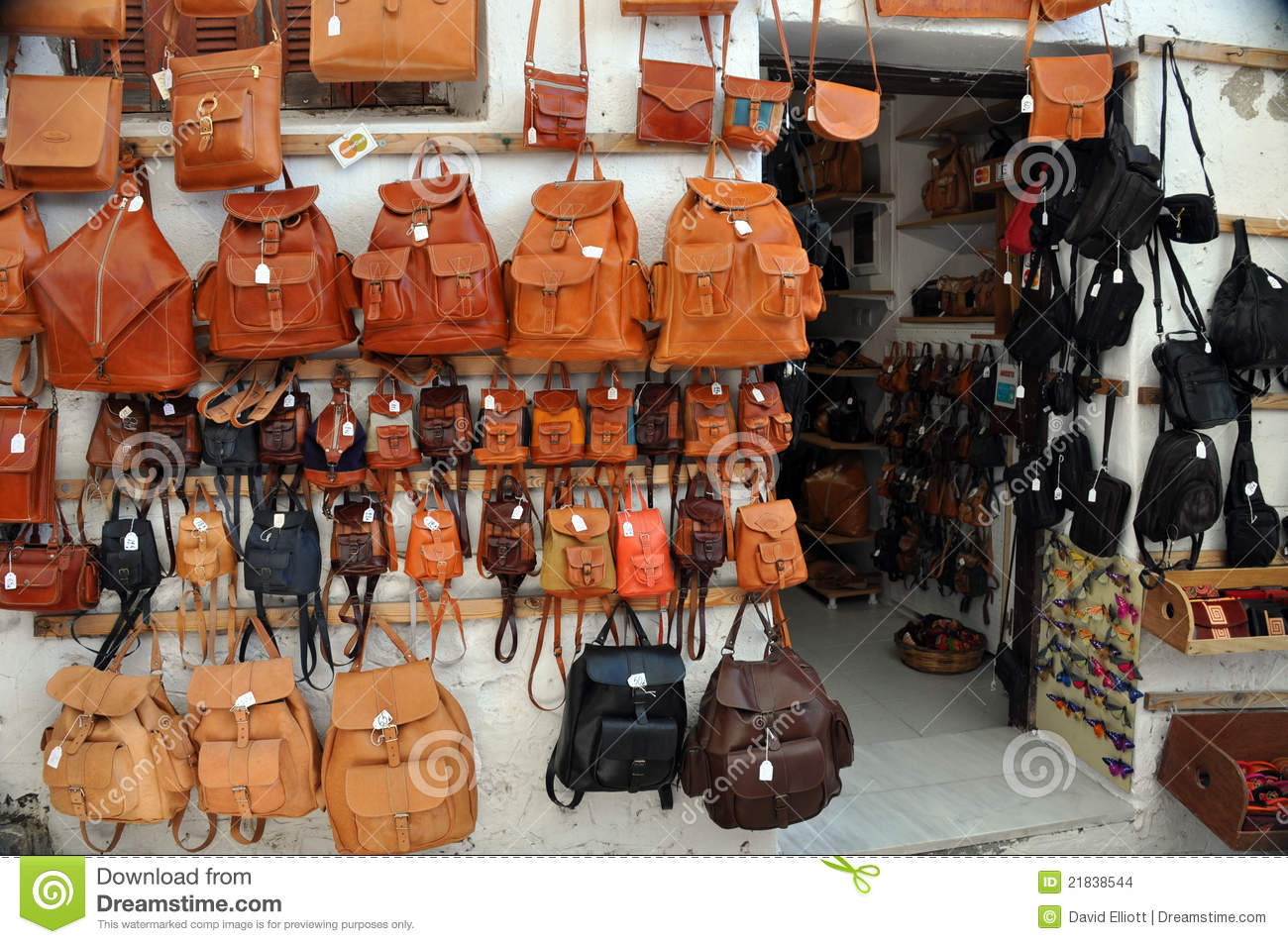 Leather Bags Shop Stock Photos, Images, & Pictures - 1,172 Images