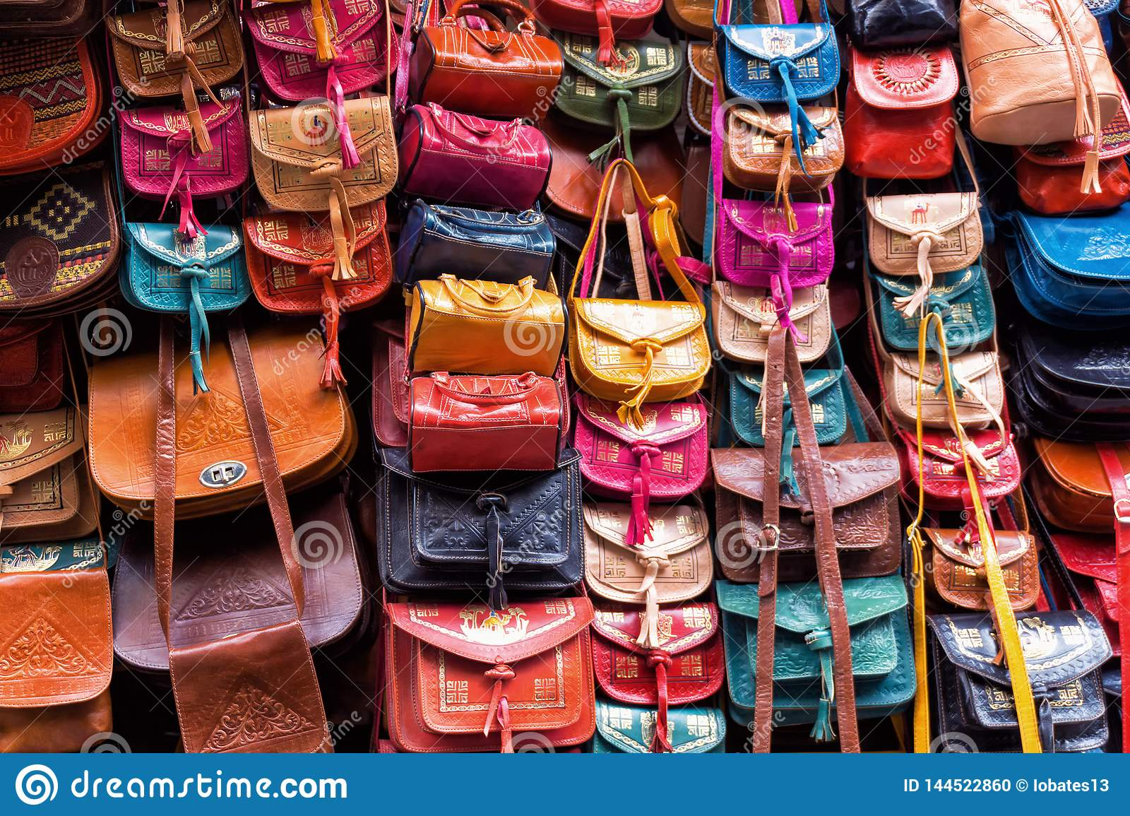 Leather Bags Store in Tunis, Tunisia