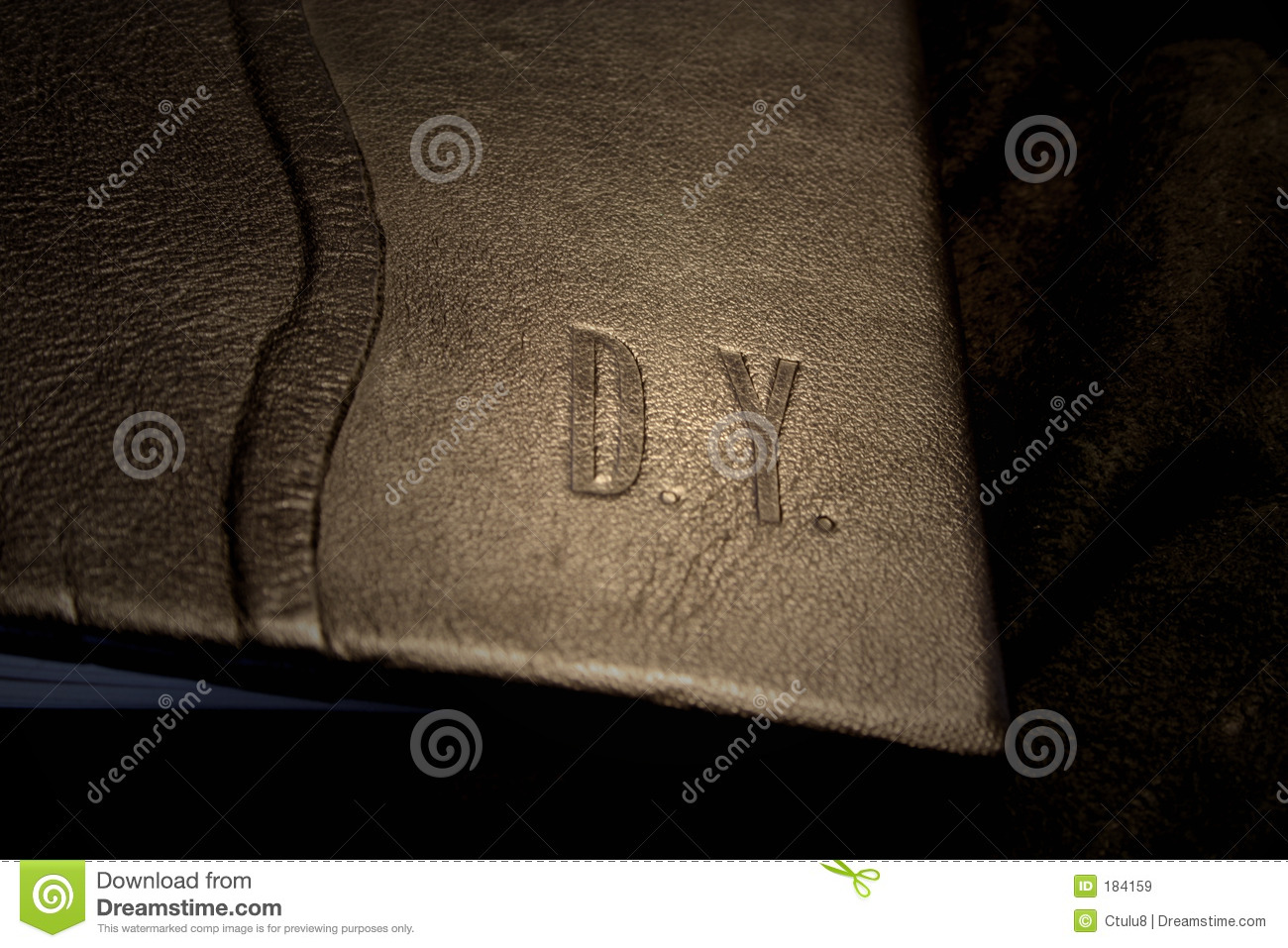 Book Cover Images Royalty Free : Leather book cover royalty free stock images image