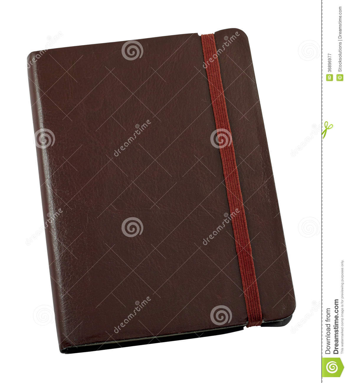 Leather bound journal stock image. Image of journalism ...