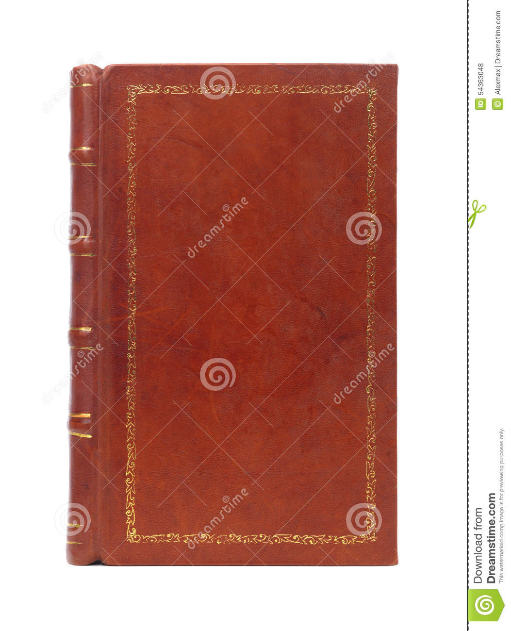 leather book cover background