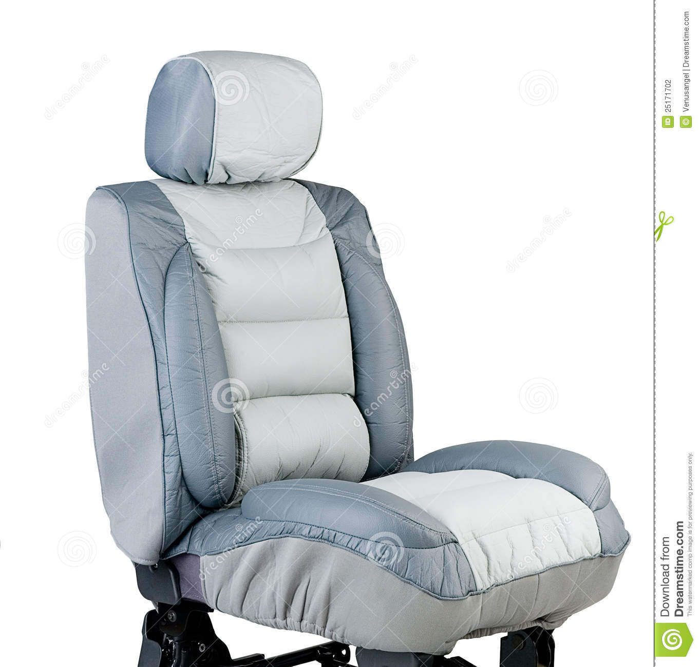 Leather Car Seat Cover Stock Photography