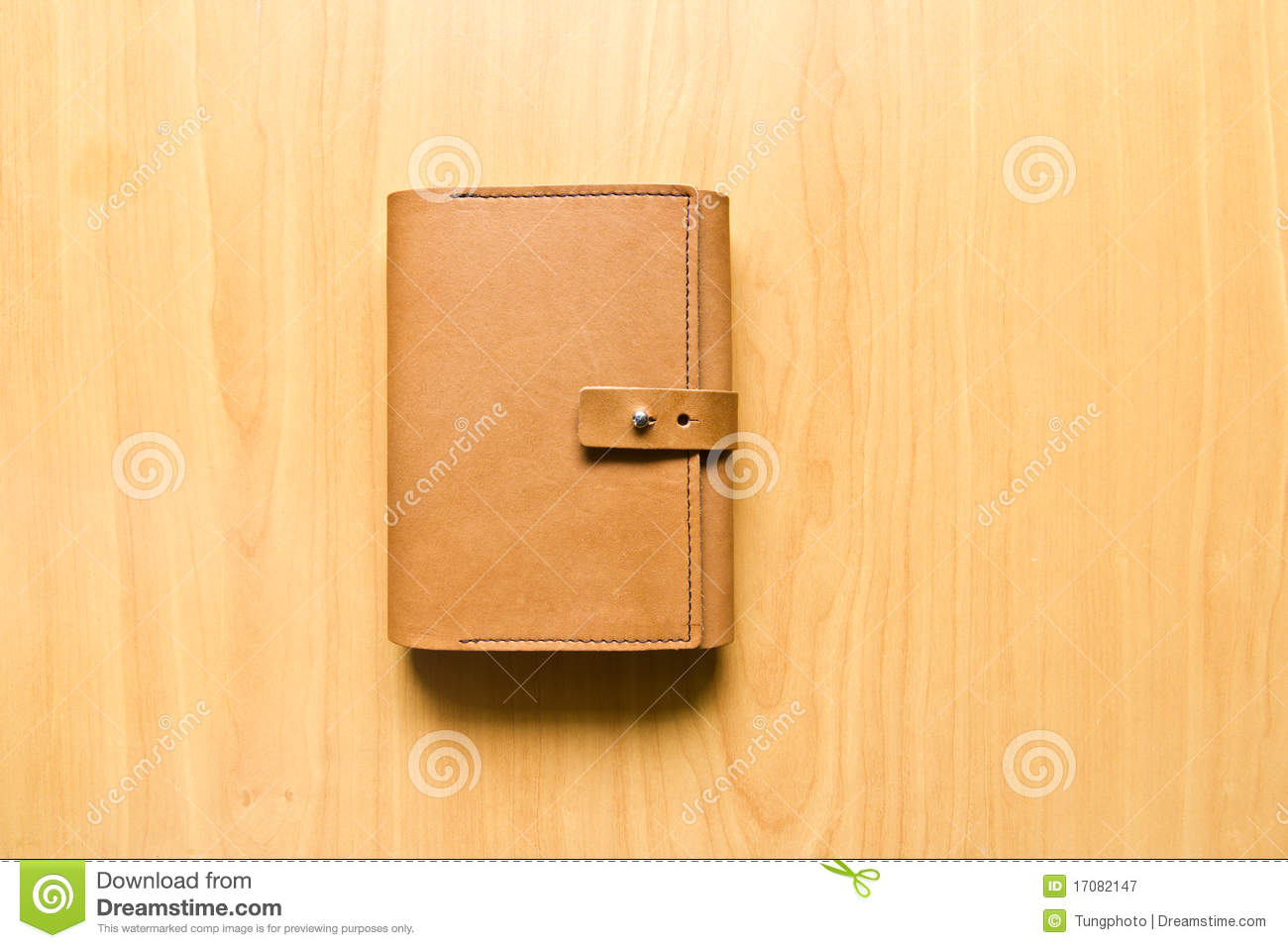 Leather case notebook