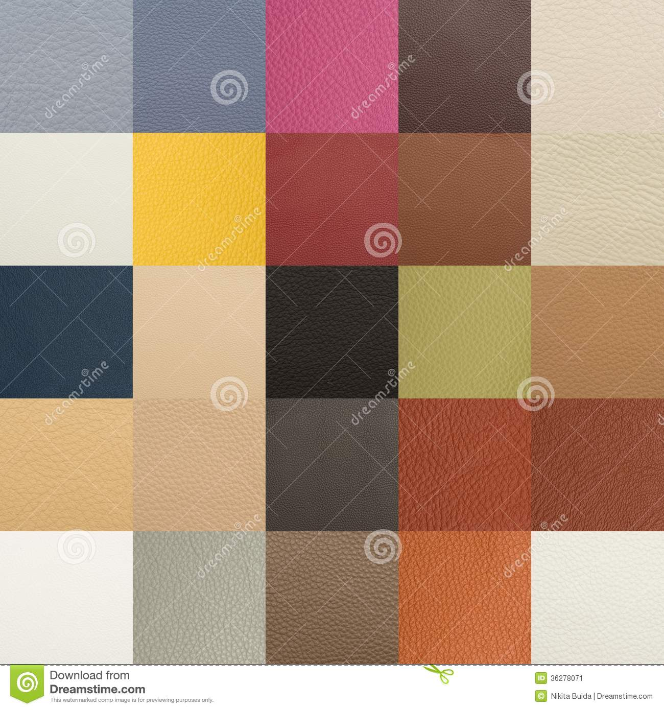 Choosing Paint Color From Tone Samples Stock Image