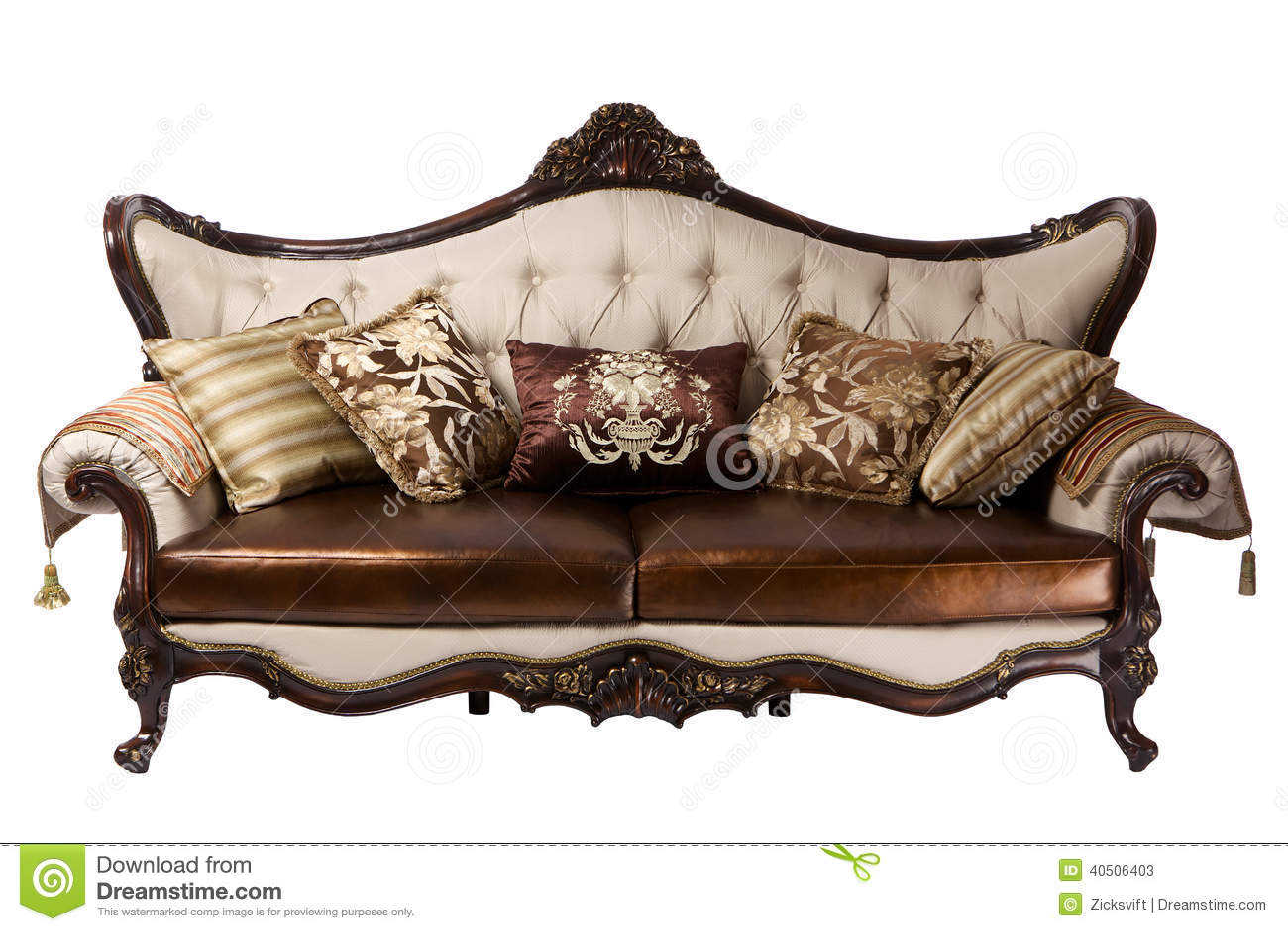 Leather divan stock photo image 40506403 for 0 25 divan saz teli
