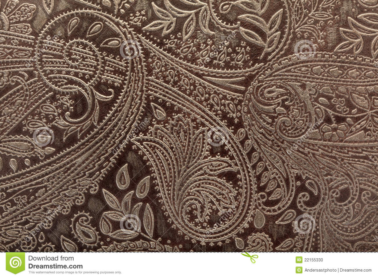 Leather Floral Pattern Background Stock Photo Image Of Pattern