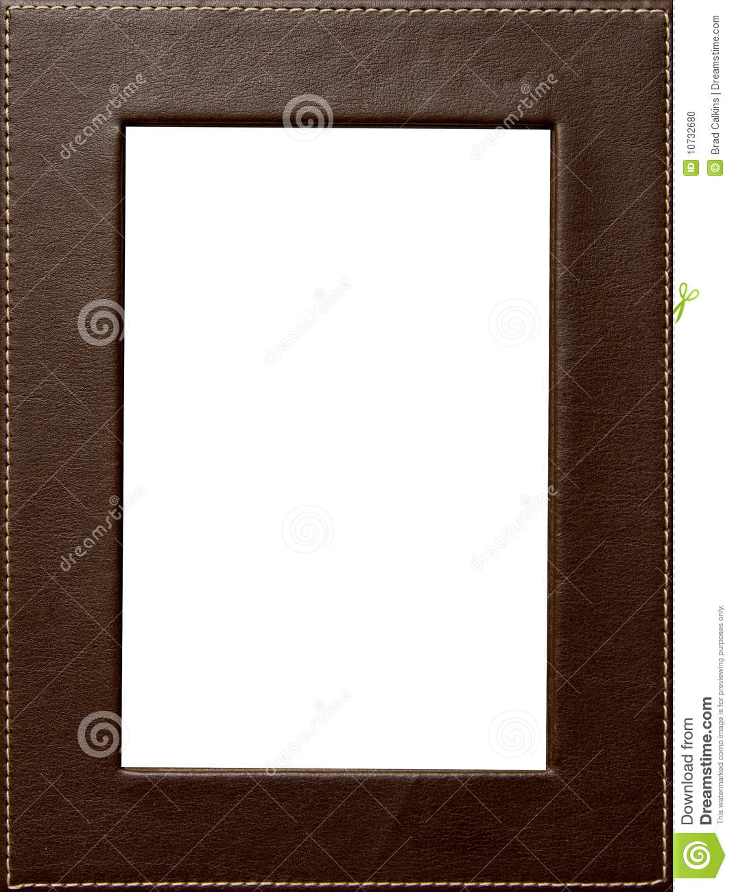 Leather Frame Stock Photo 10732680 - Megapixl