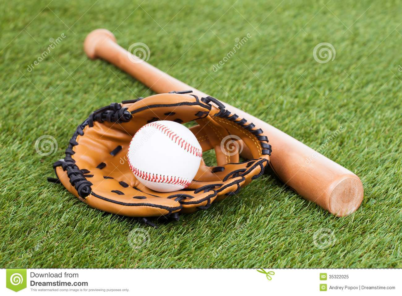 leather glove with baseball and bat stock image image of Baseball Bat Vector baseball field vector image