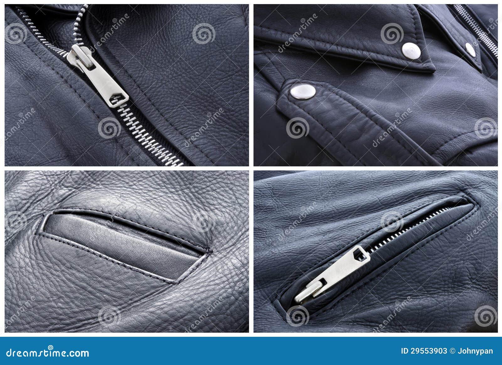 Leather Jacket Texture Stock Photos - Image: 29553903