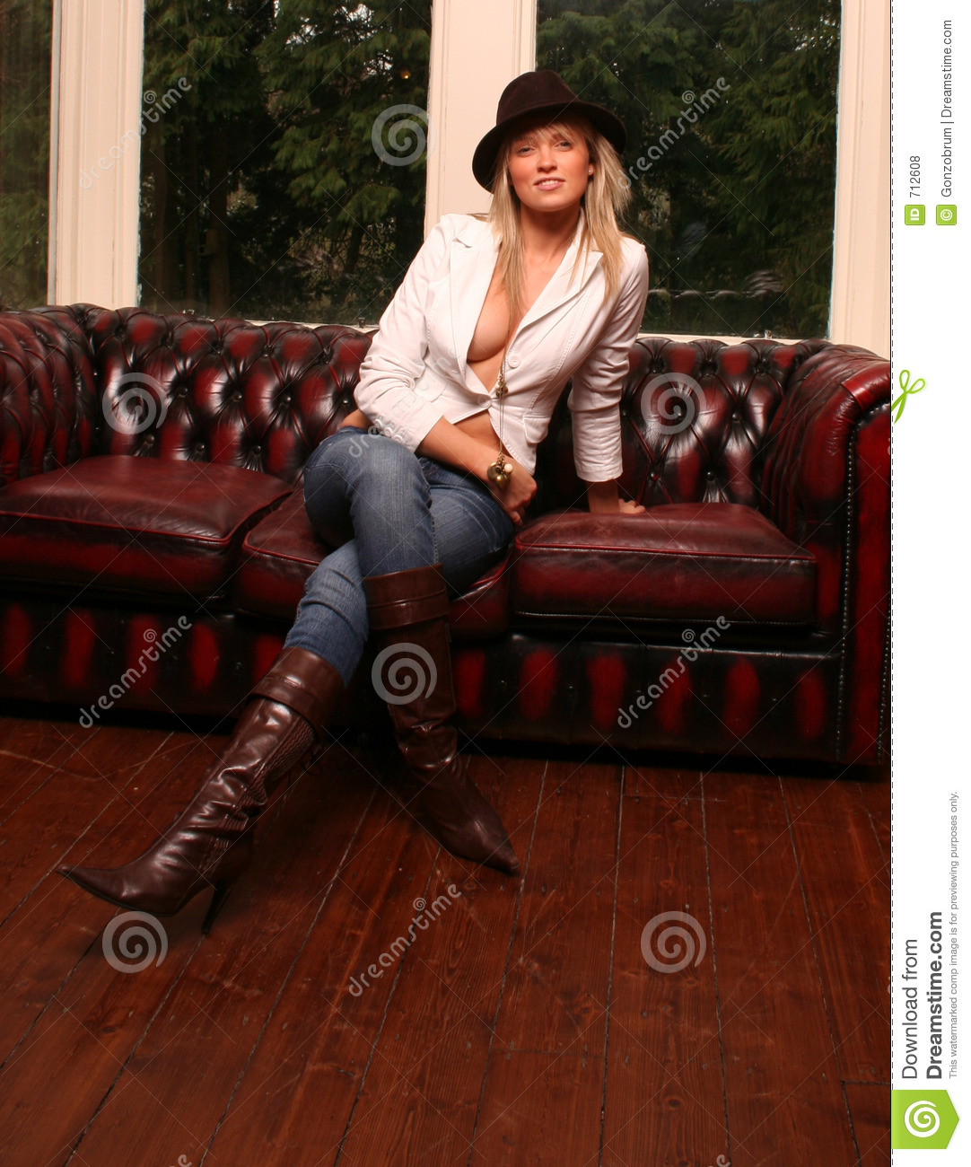 Leather Kirsty Royalty Free Stock Photos - Image: 712608
