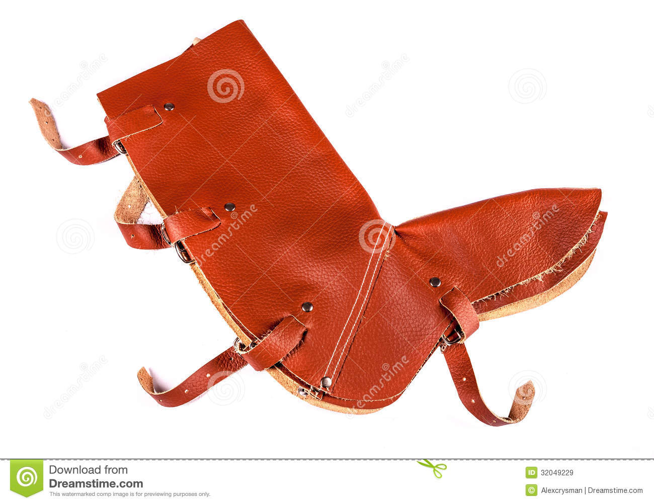 Leather Leg Protection Royalty Free Stock Images Image
