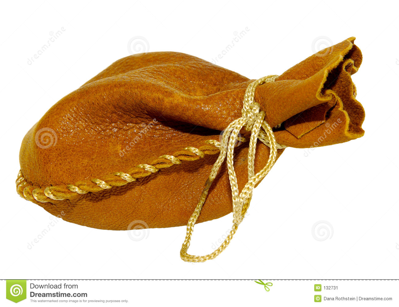 Download Leather Pouch stock image. Image of sack, pouch, isolated - 132731