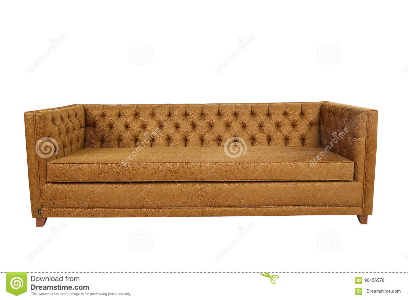 Leather Sofa stock photo. Image of fabric, contemporary ...