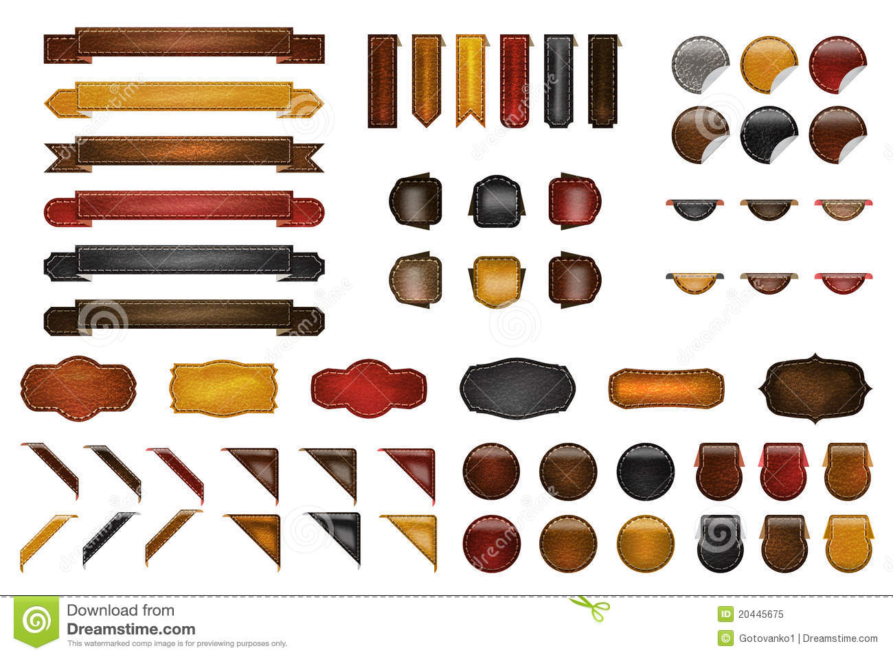 Leather Website kit