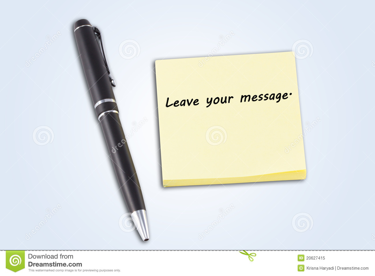 pen and post it leave your message note mr no pr no 0 1357 0