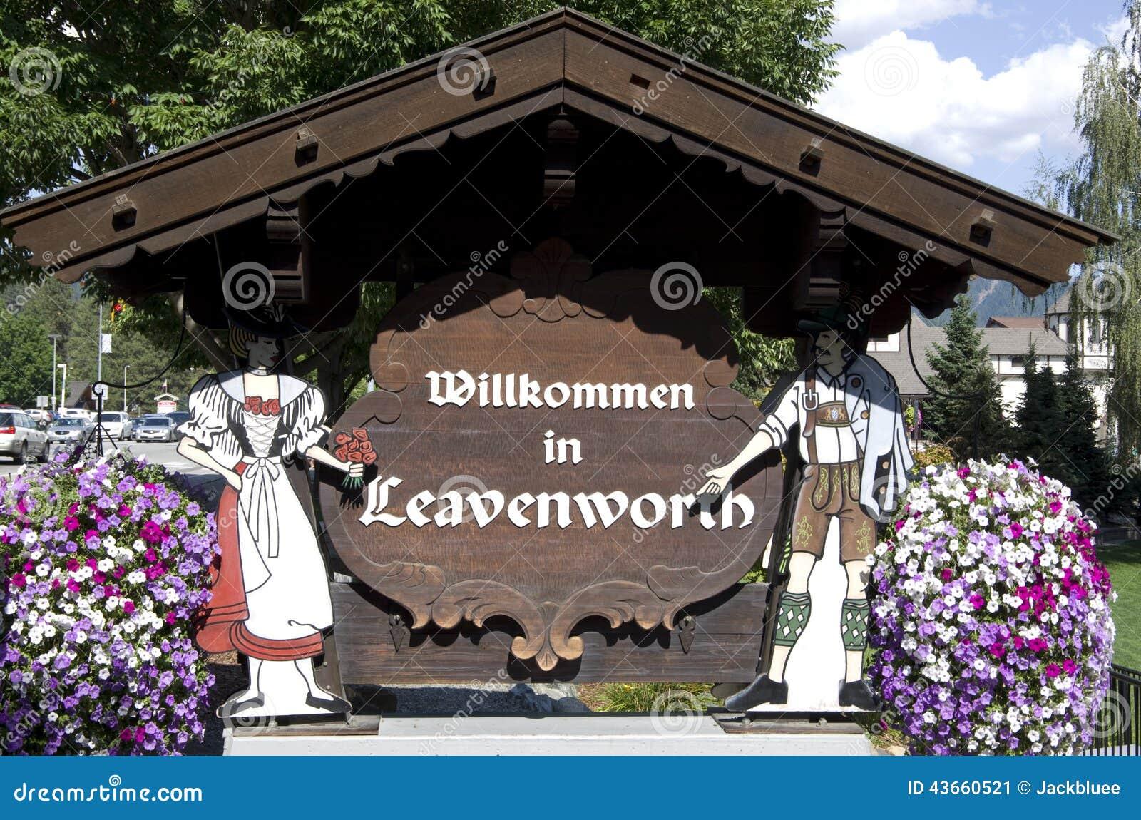 Leavenworth德国人镇