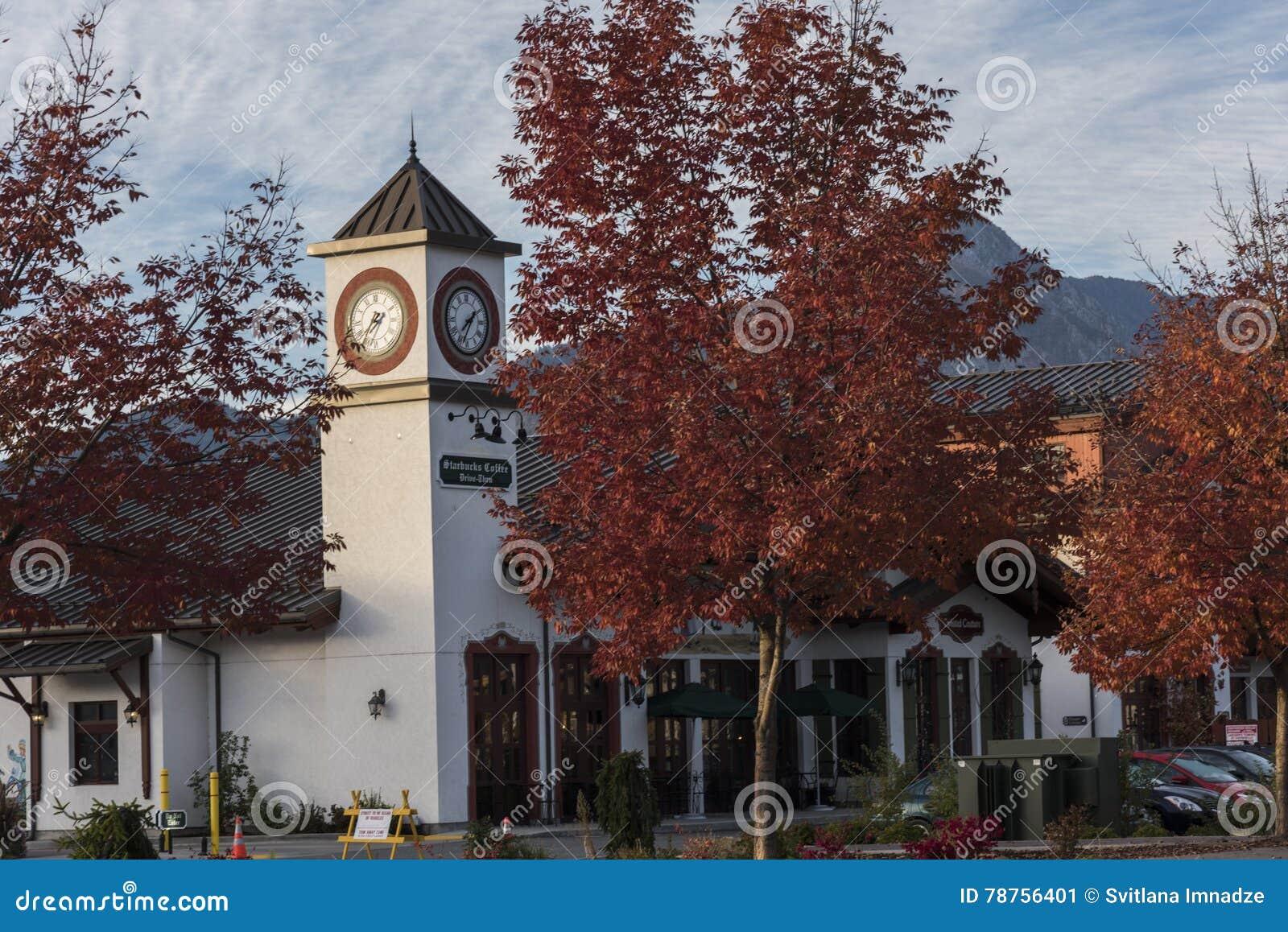 Leavenworth i höst
