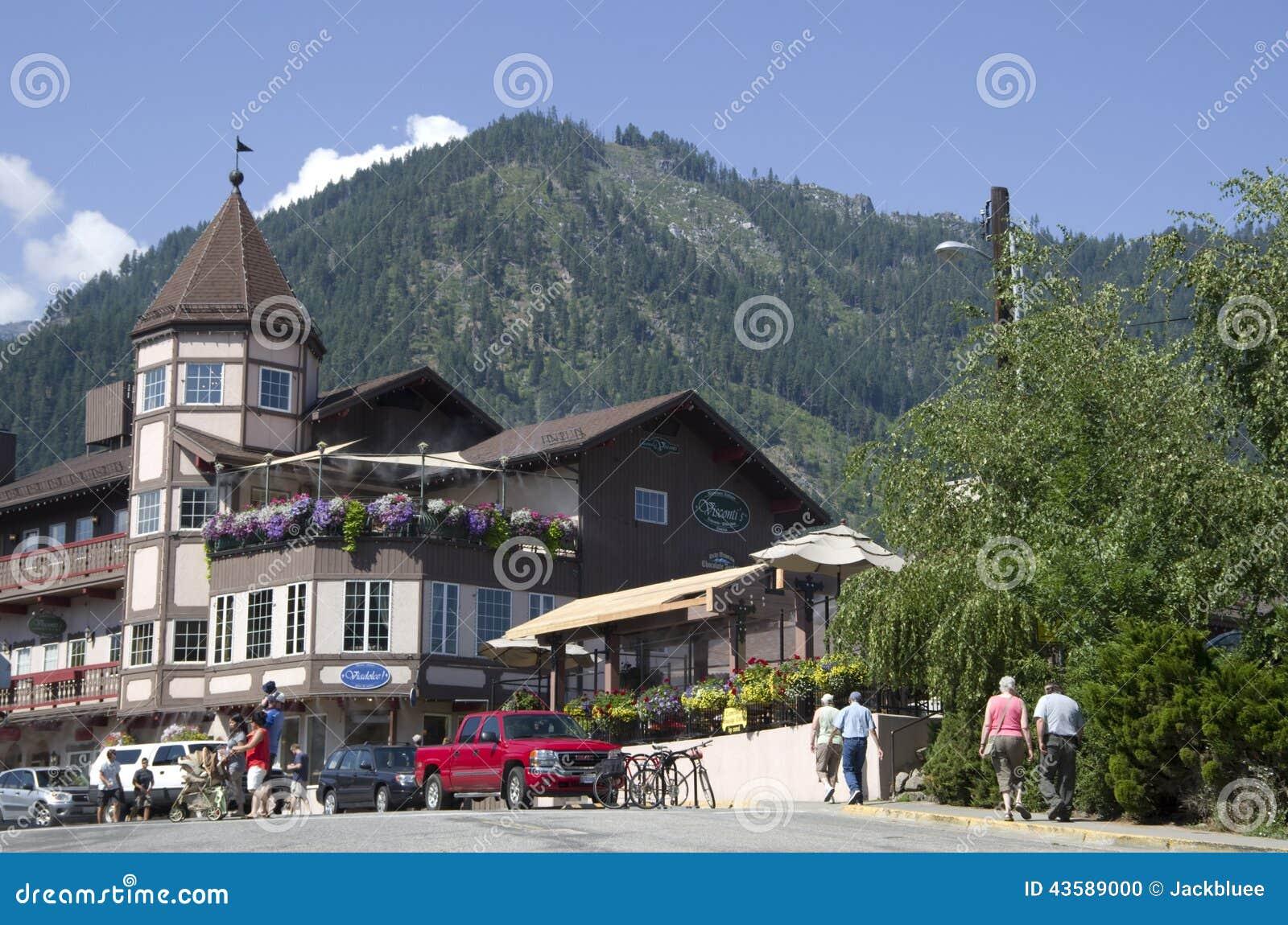 Leavenworth niemiec miasteczko