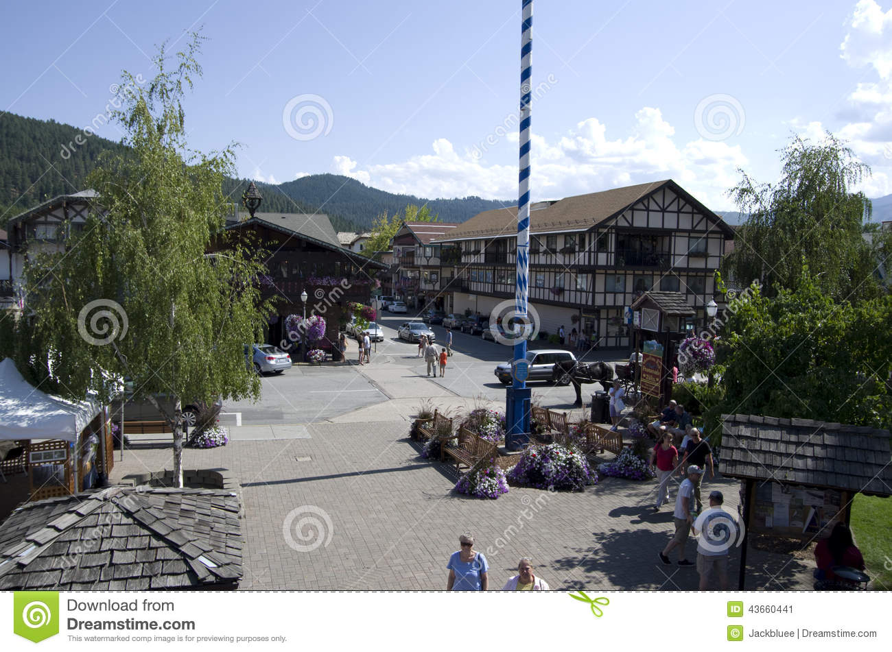 Leavenworth tyskstad
