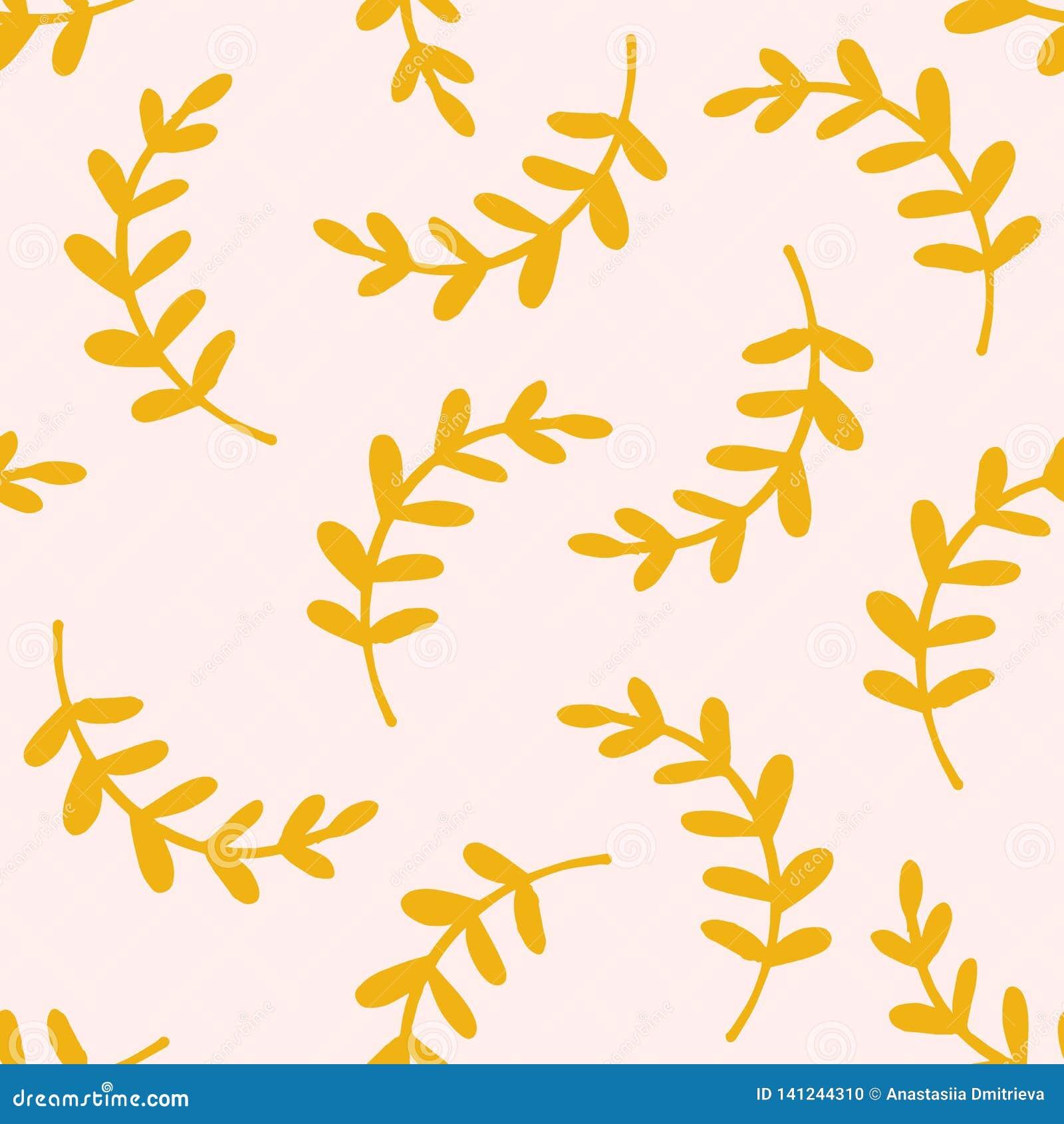 Leaves mönsan seamless