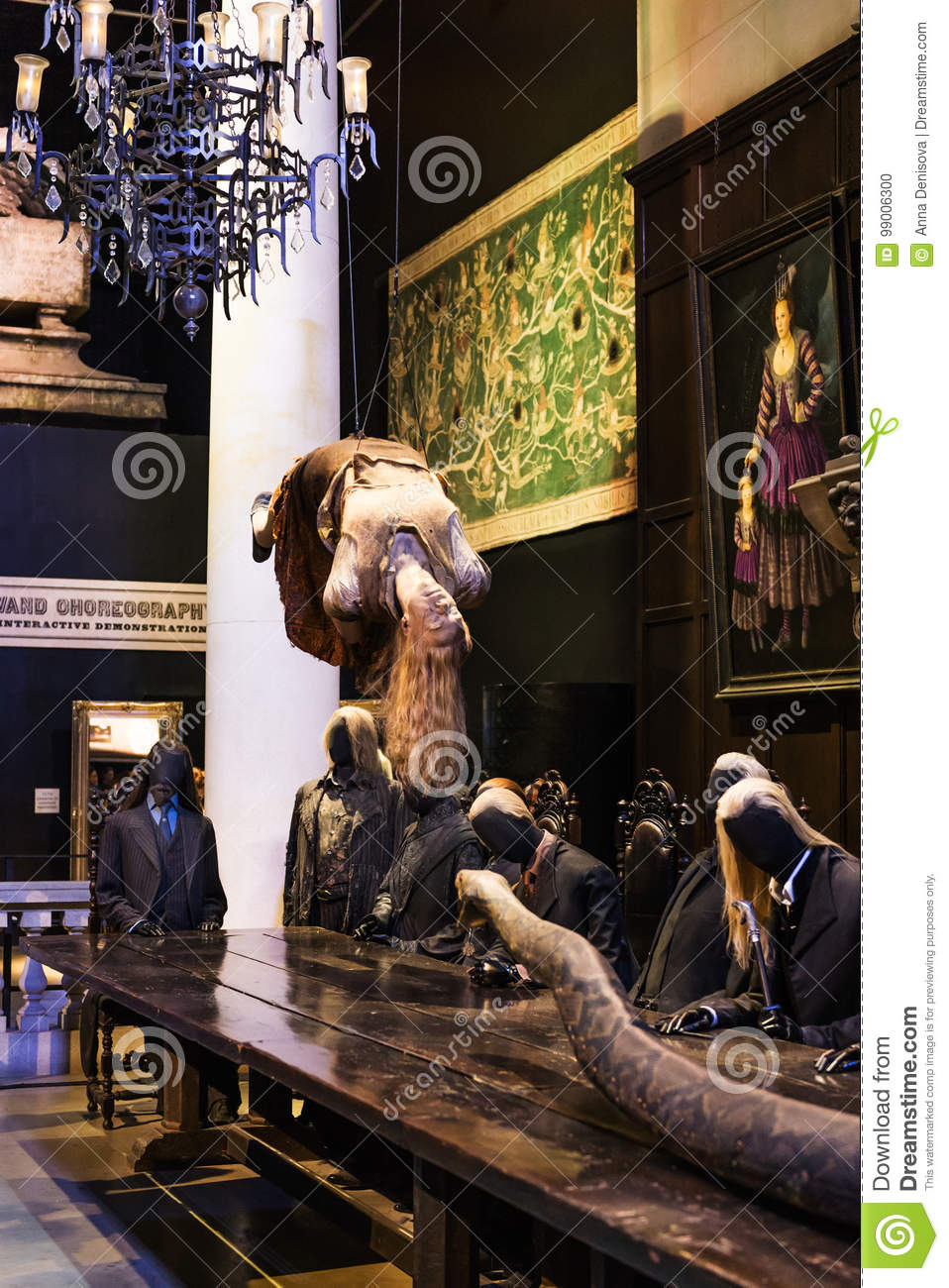 The Set Of Making Of Harry Potter Tour LEAVESDEN, UK Editorial Image