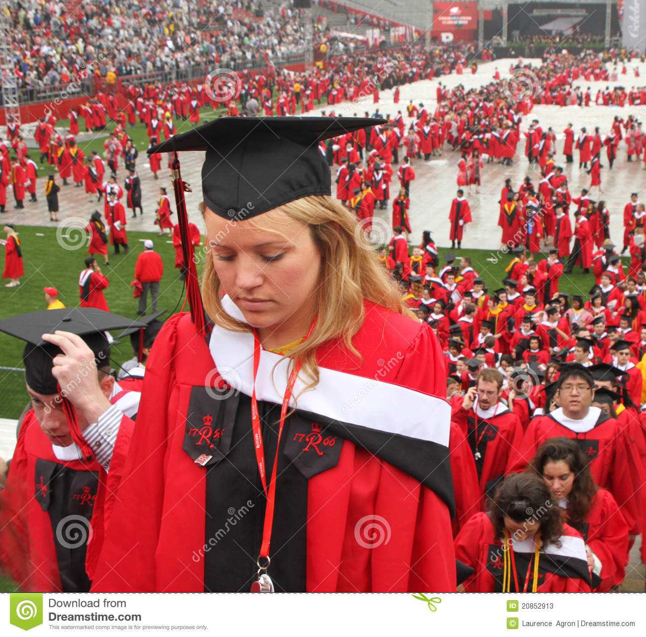 Colorful Rutgers Cap And Gown Inspiration - Wedding and flowers ...