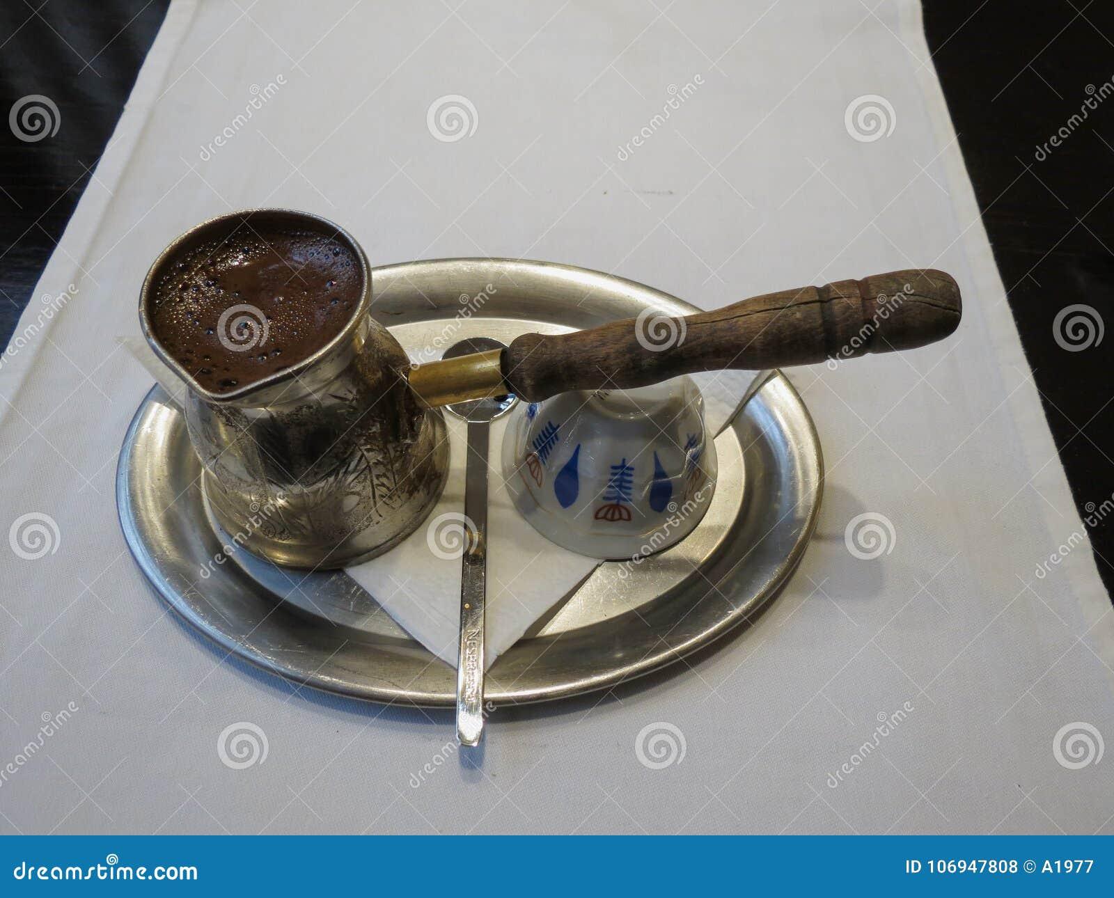 Lebanese Coffee Jar Stock Photo Image Of Healthy