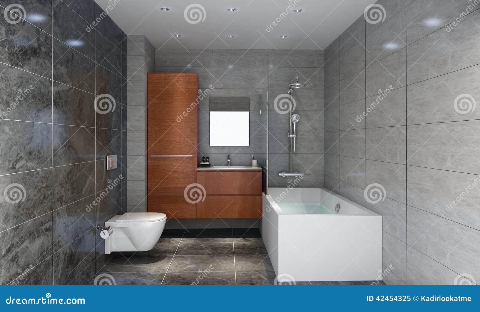 Lebendes Badezimmer