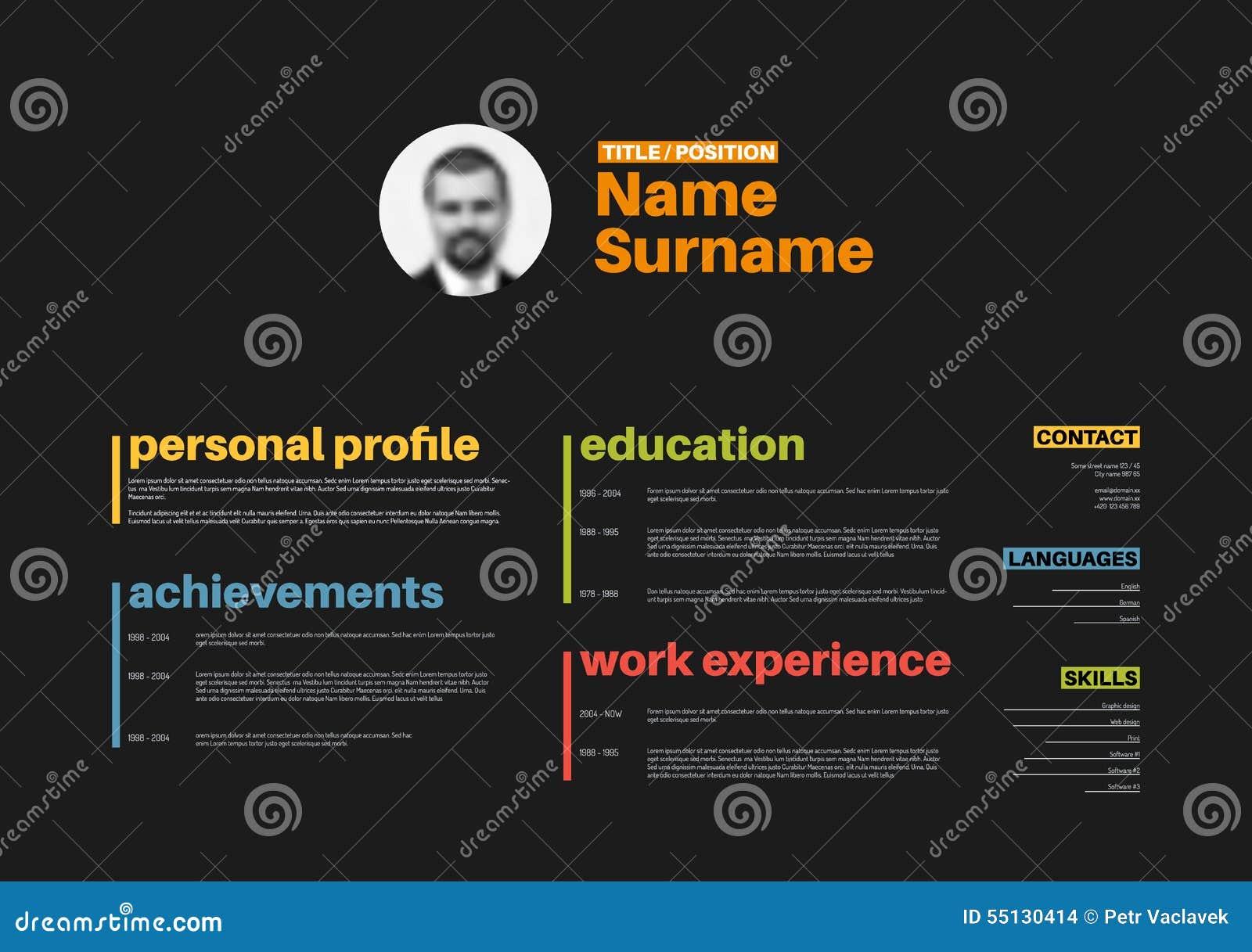 Ausgezeichnet Profil Zusammenfassung Lebenslauf Beispiele Bilder ...