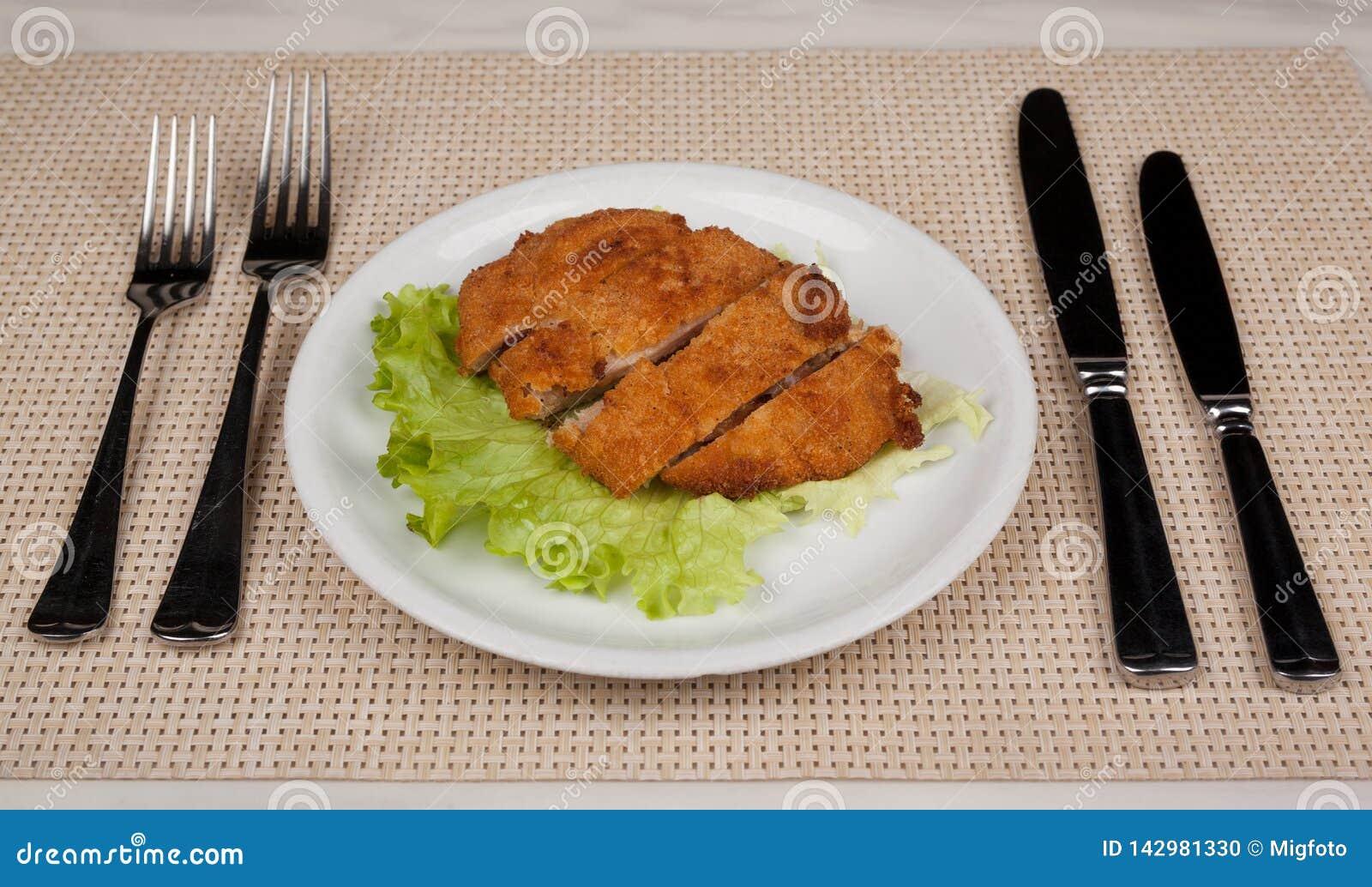 Lebensmittel in der Platte