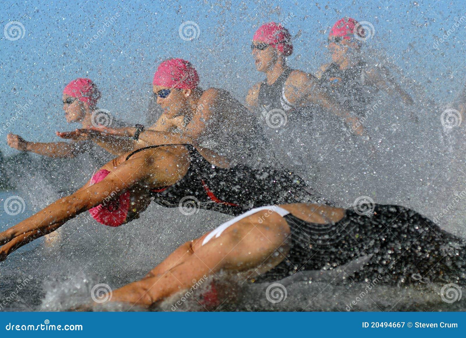 Lebenszeit-EignungTriathlon der Frauen des Anfangs2010