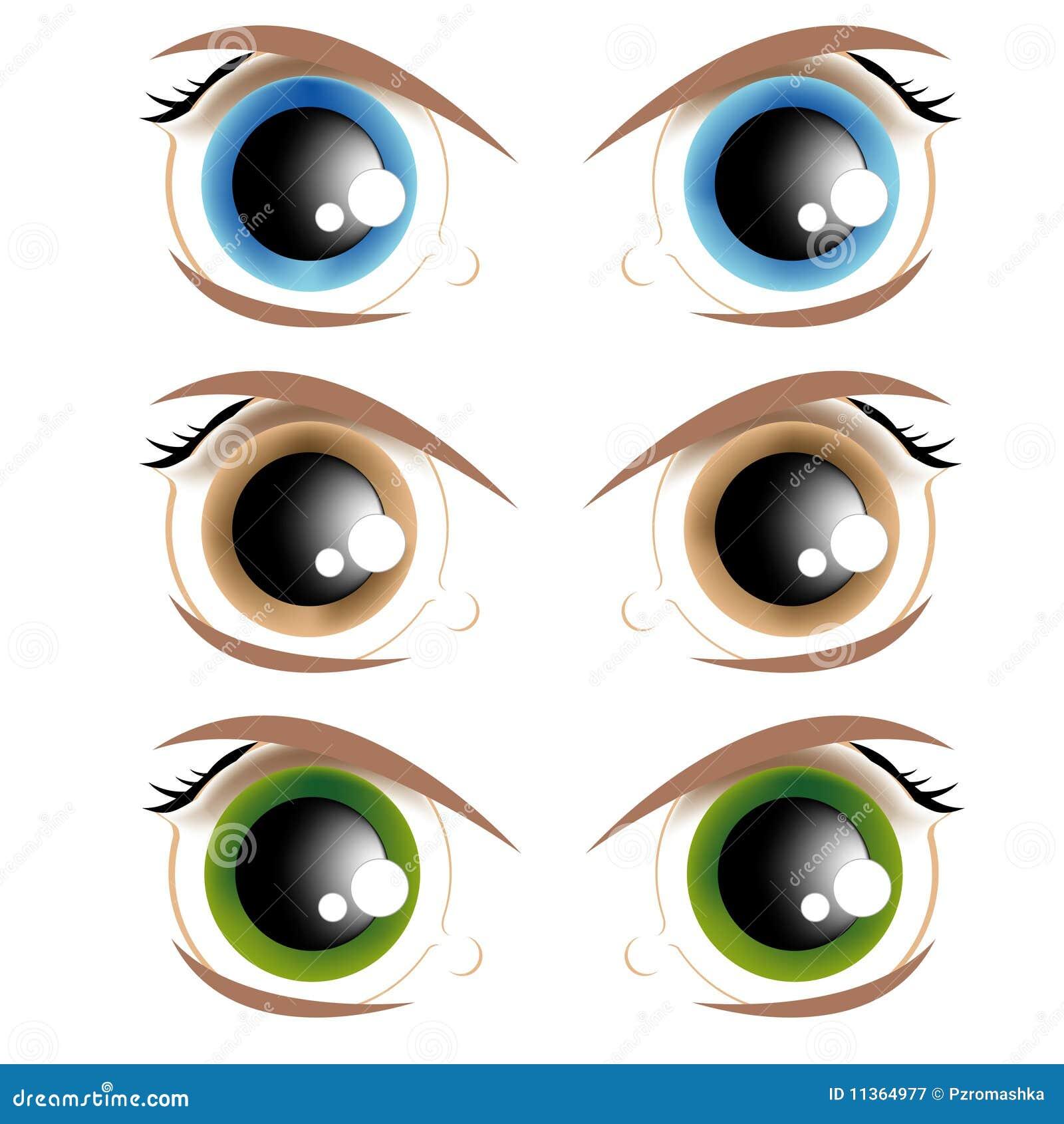 Lebhafte Augen