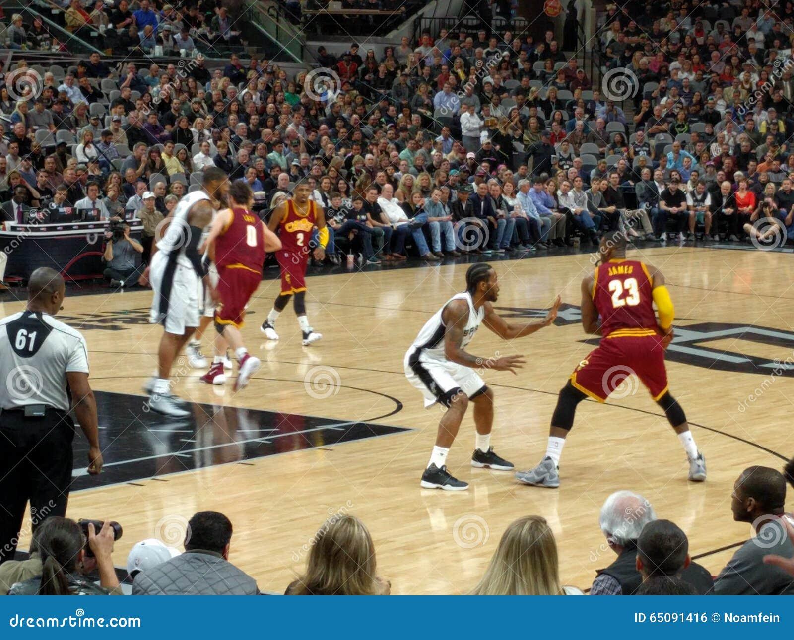 Lebron James i NBA-lek