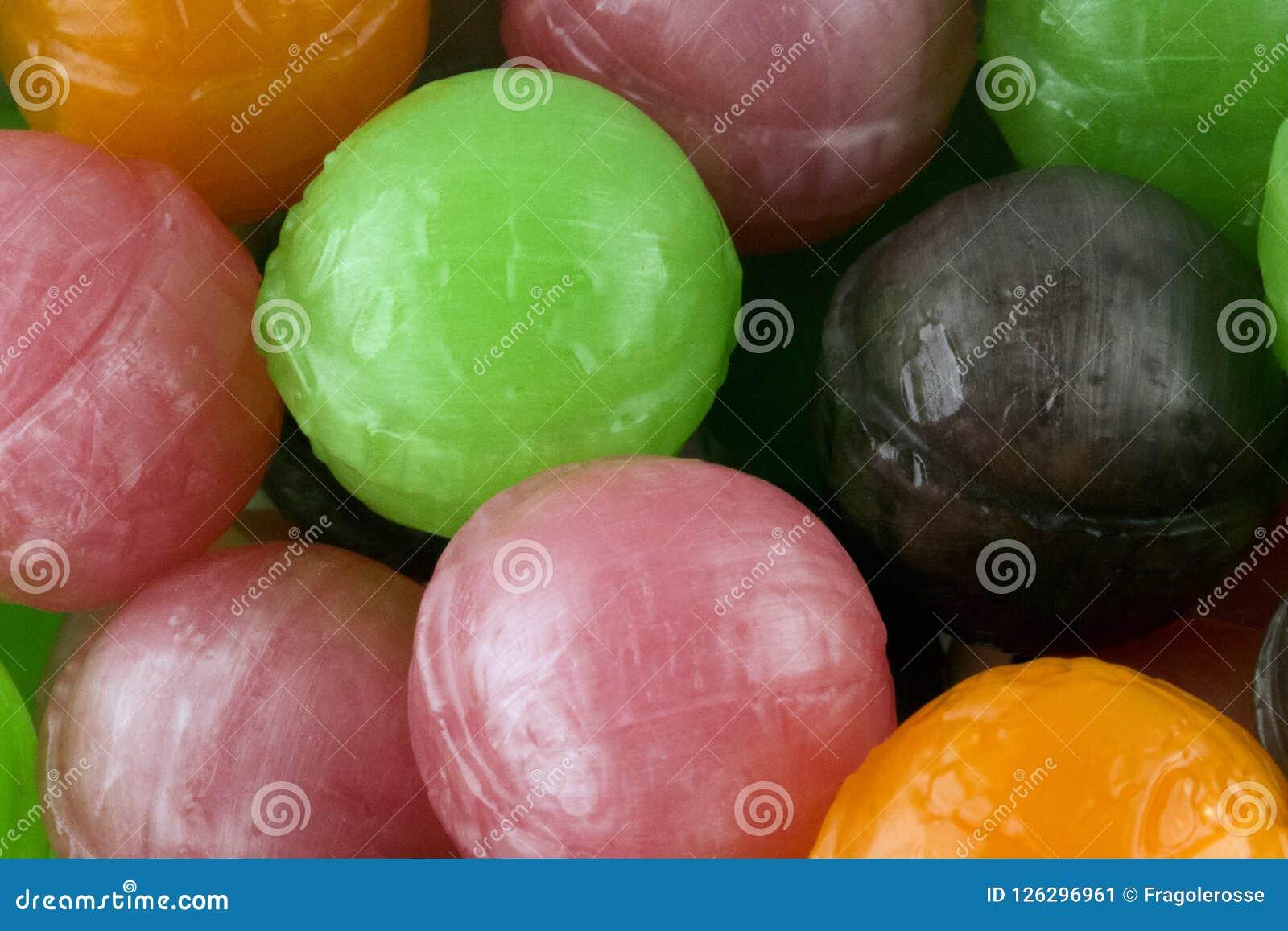 Lecca-lecca con frutta bio-