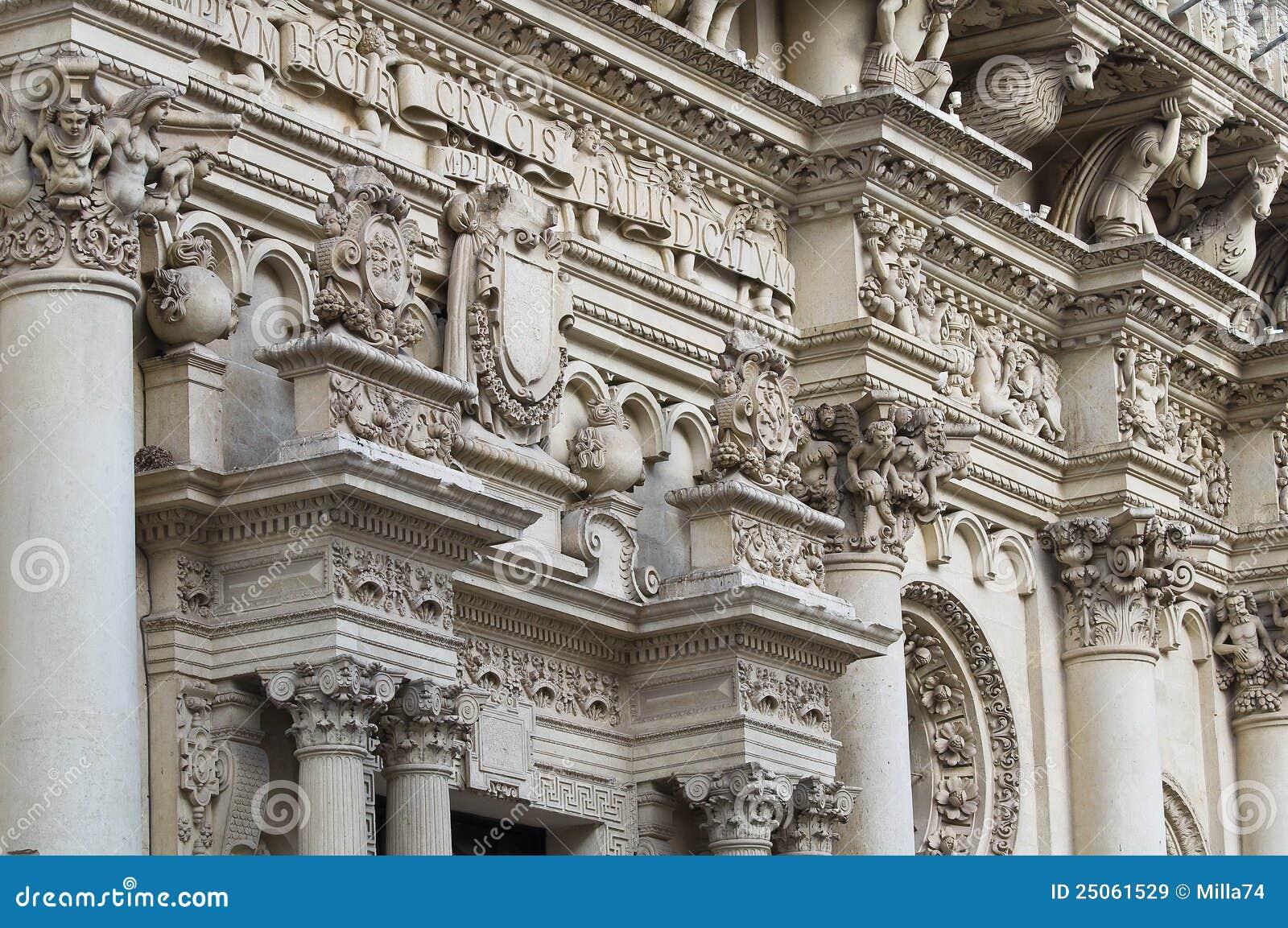 Lecce puglia santa Италии croce базилики
