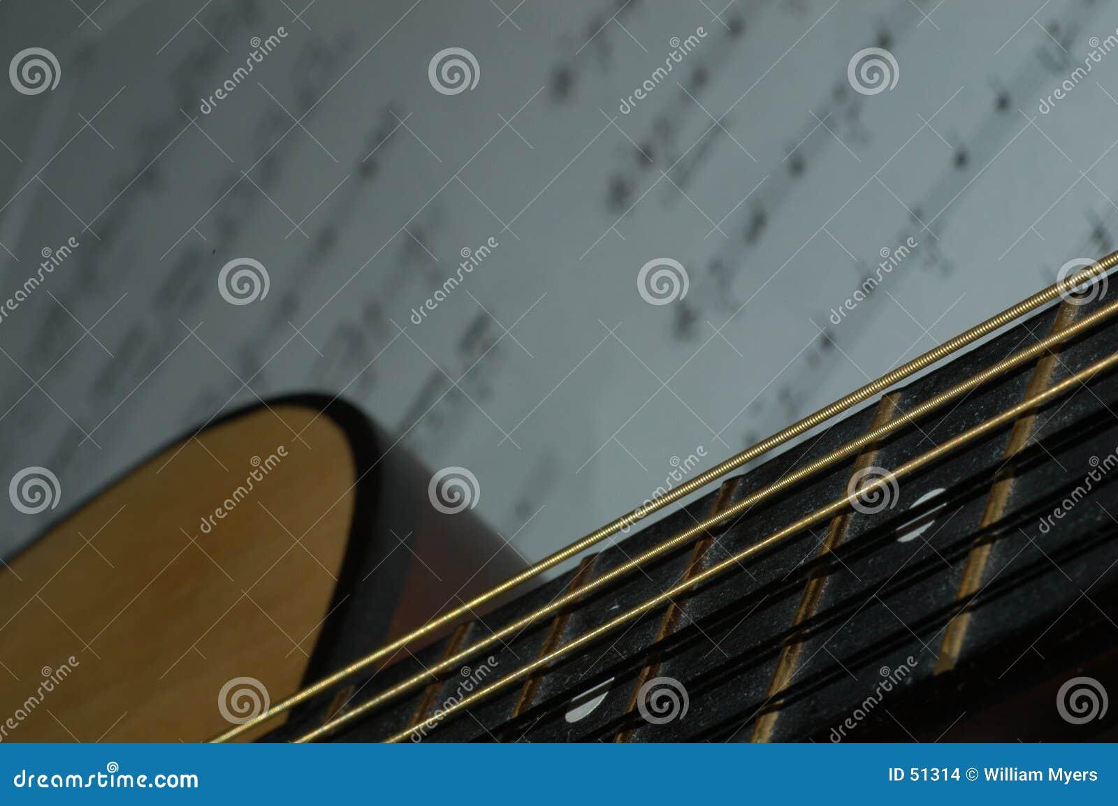 Lección de la guitarra