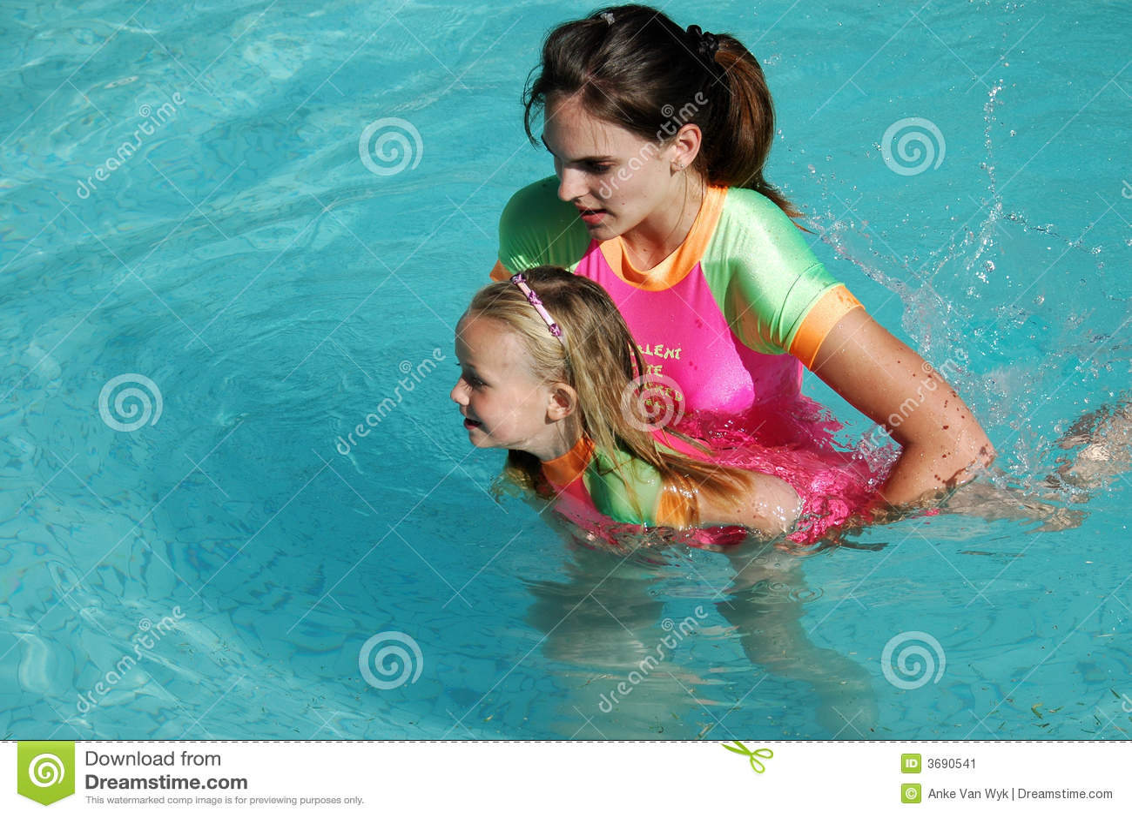 Lección de la natación