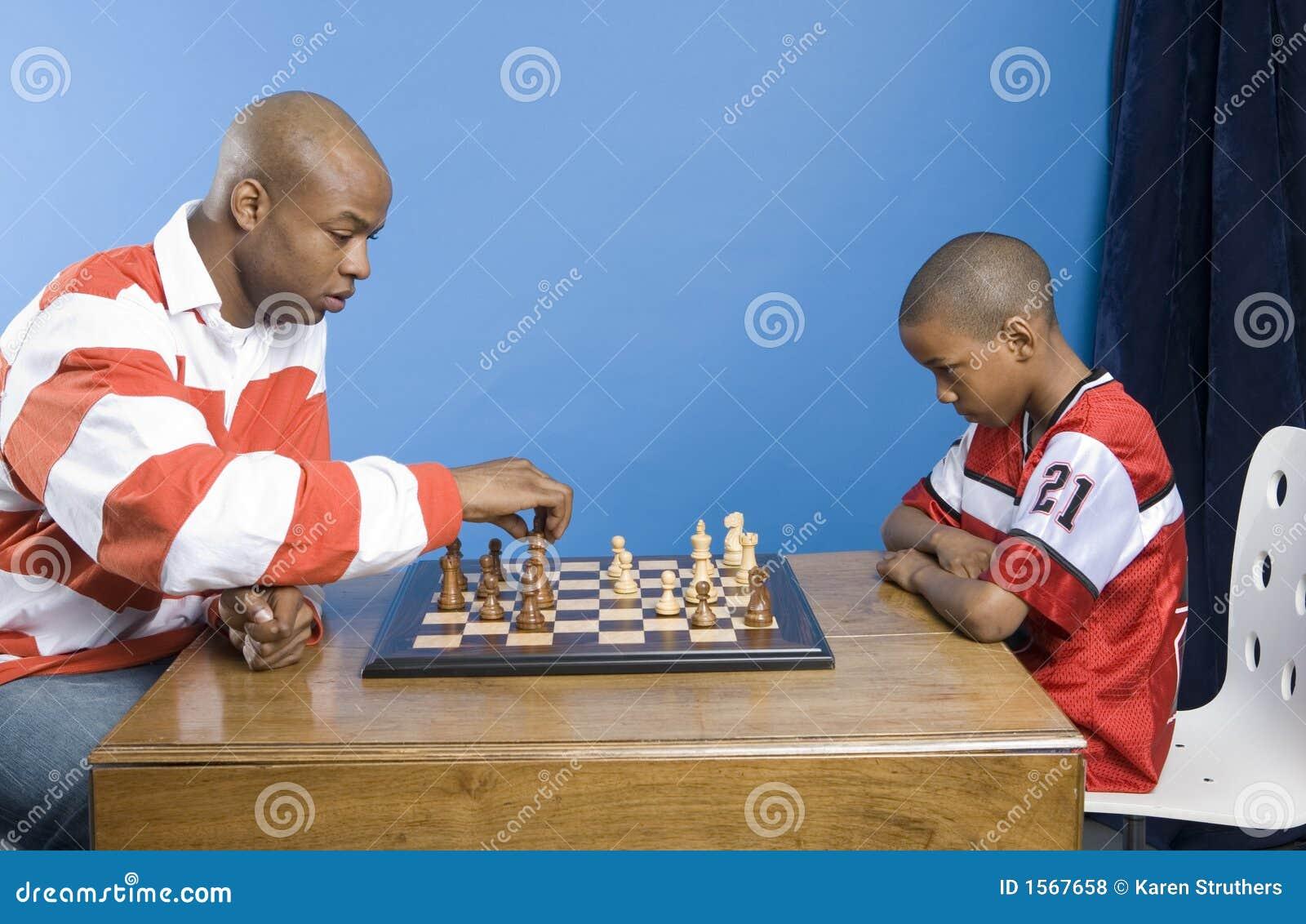 Lección del ajedrez