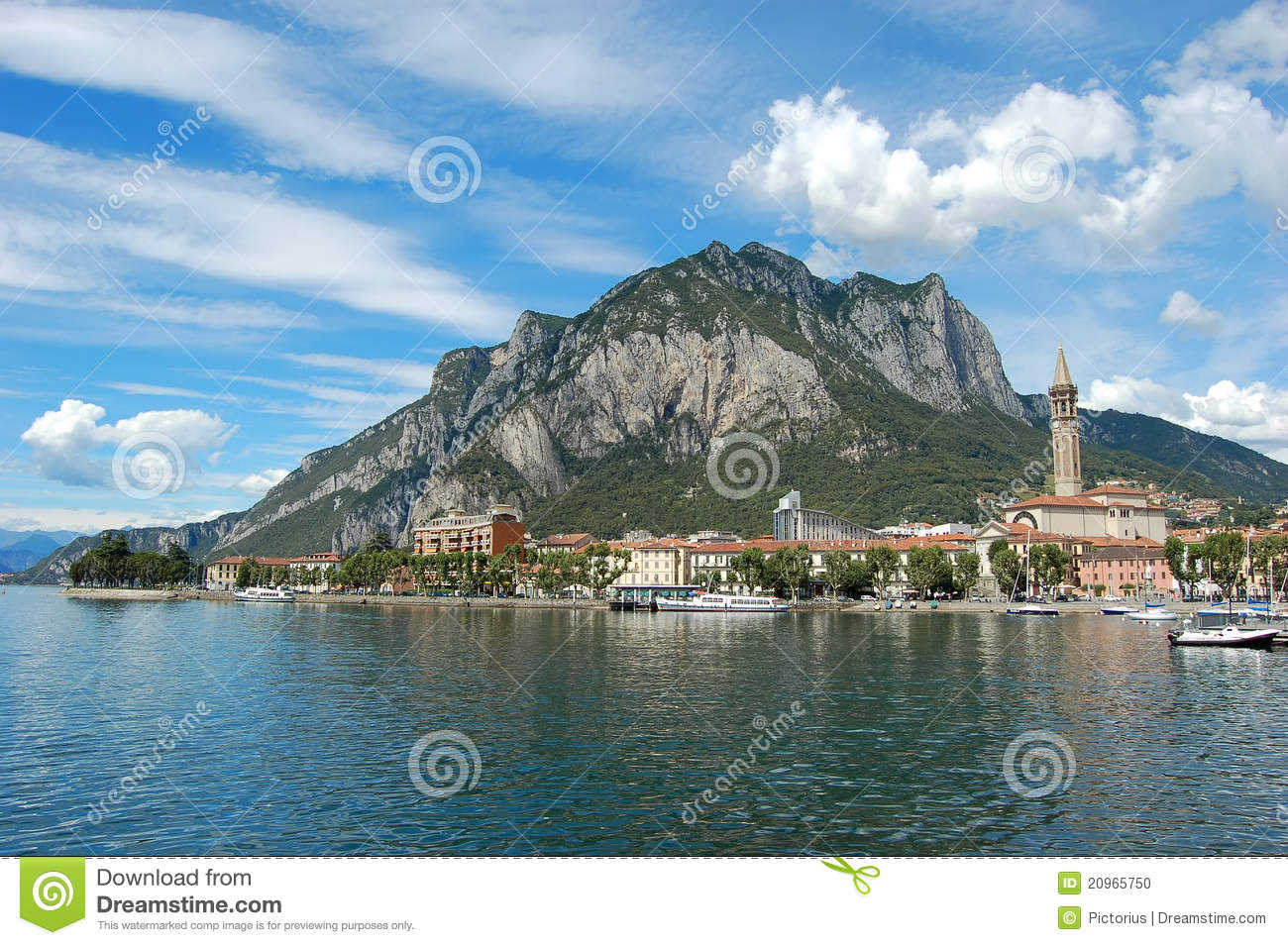 Lecco Italy  city pictures gallery : Lecco, Italy Stock Photo Image: 20965750