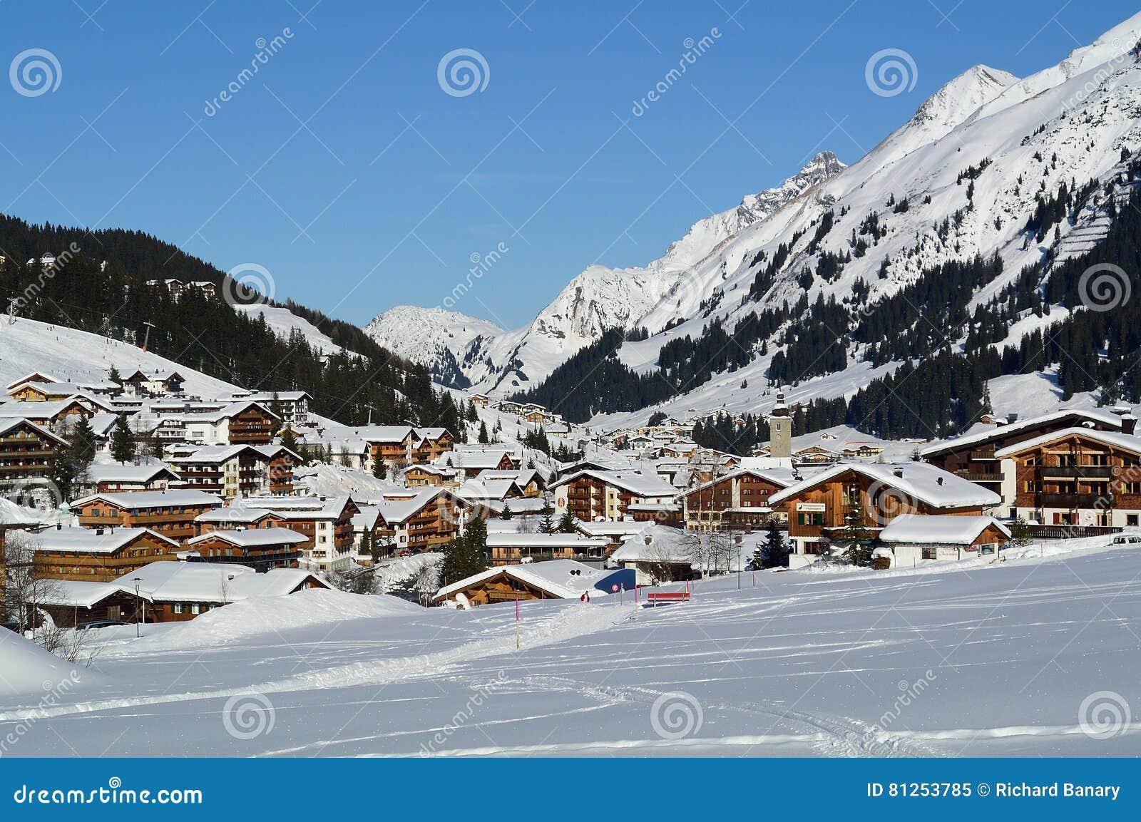 Lech, Voralberg, Österreich