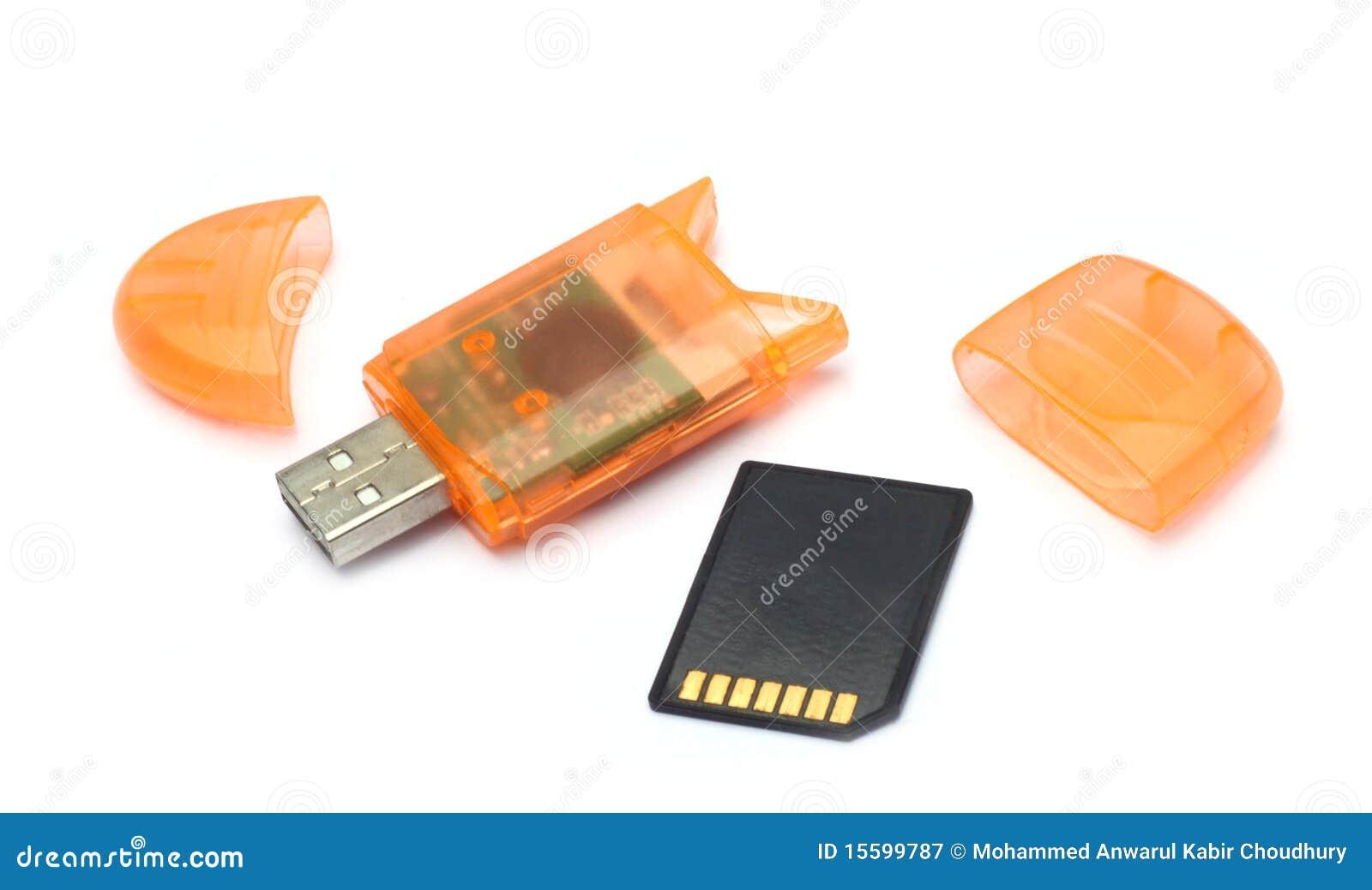 Lecteur de carte de mémoire d USB