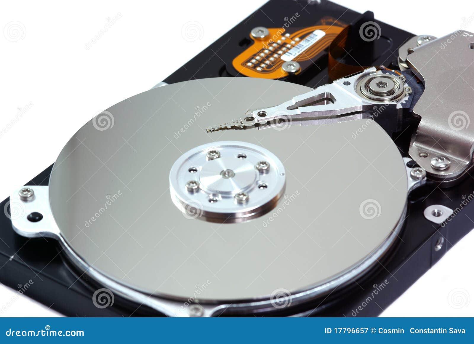 Lecteur de disque dur photographie stock libre de droits for Disque dur miroir