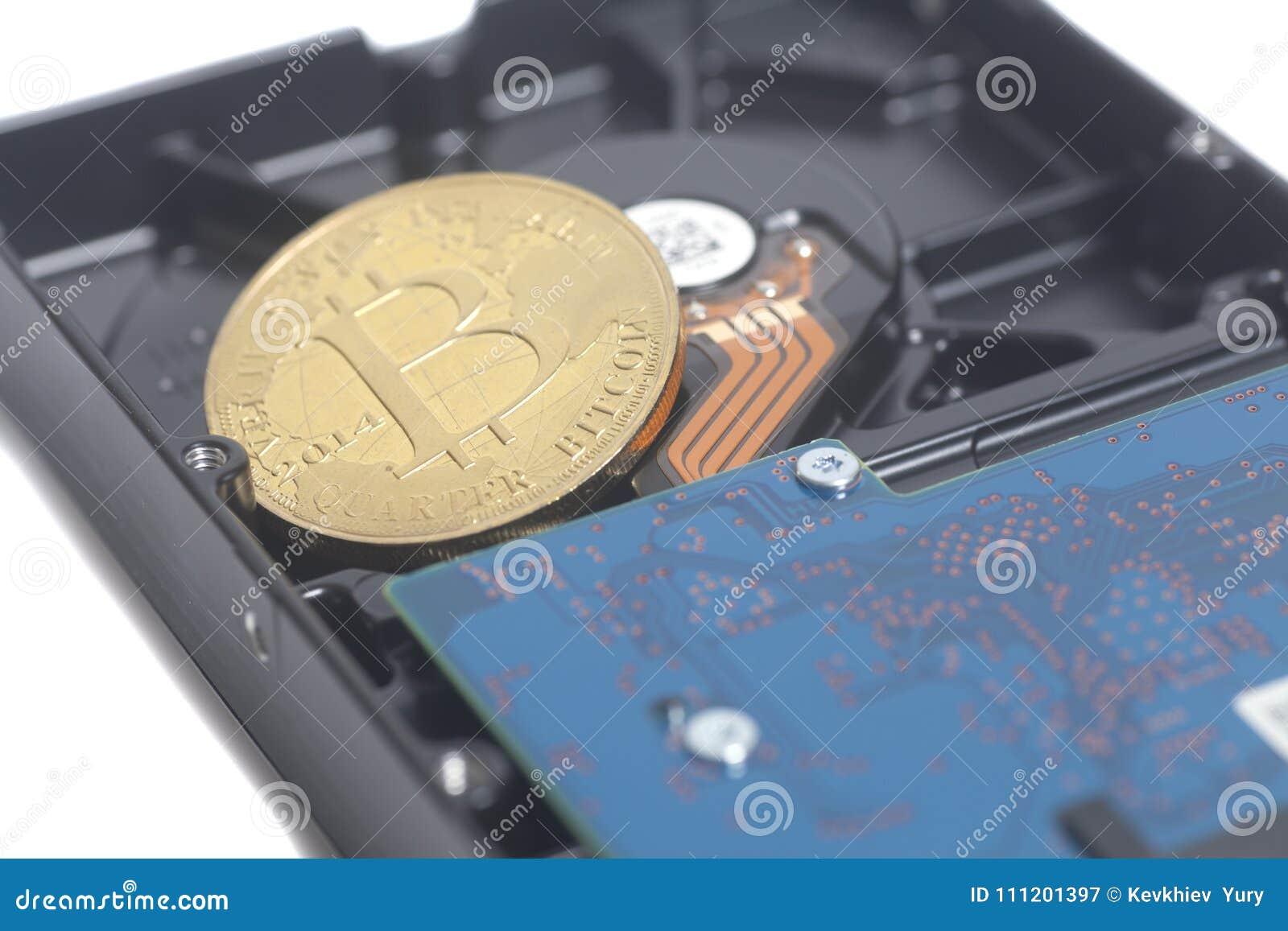 Lecteur de disque dur avec Bitcoin