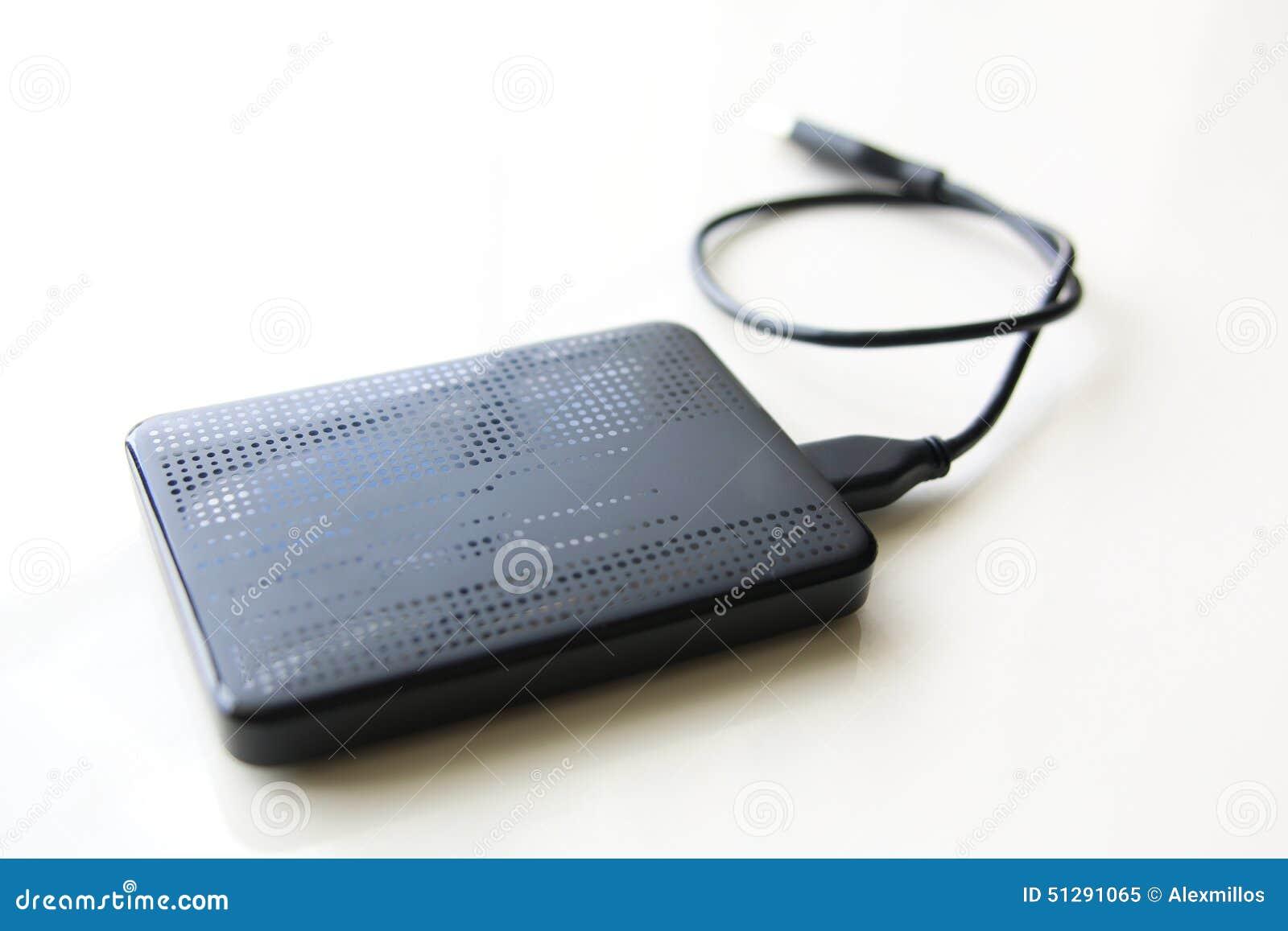 lecteur de disque dur externe de portable avec le c ble d. Black Bedroom Furniture Sets. Home Design Ideas