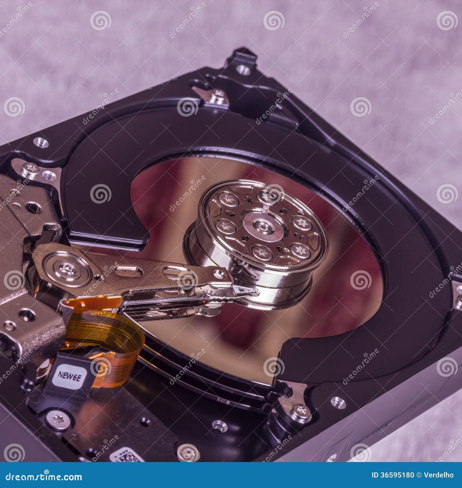 lecteur de disque dur interne photo stock image 36595180. Black Bedroom Furniture Sets. Home Design Ideas